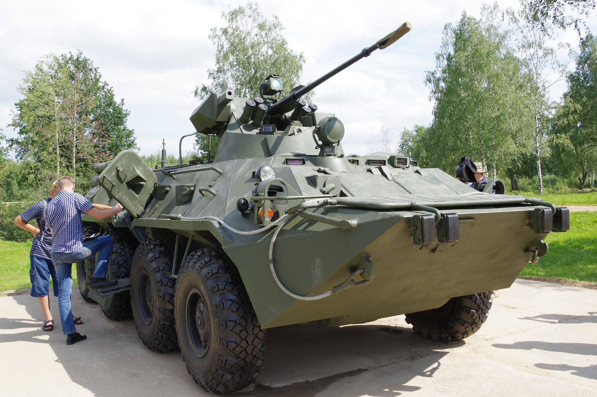 Бронетранспортёр БТР-82А