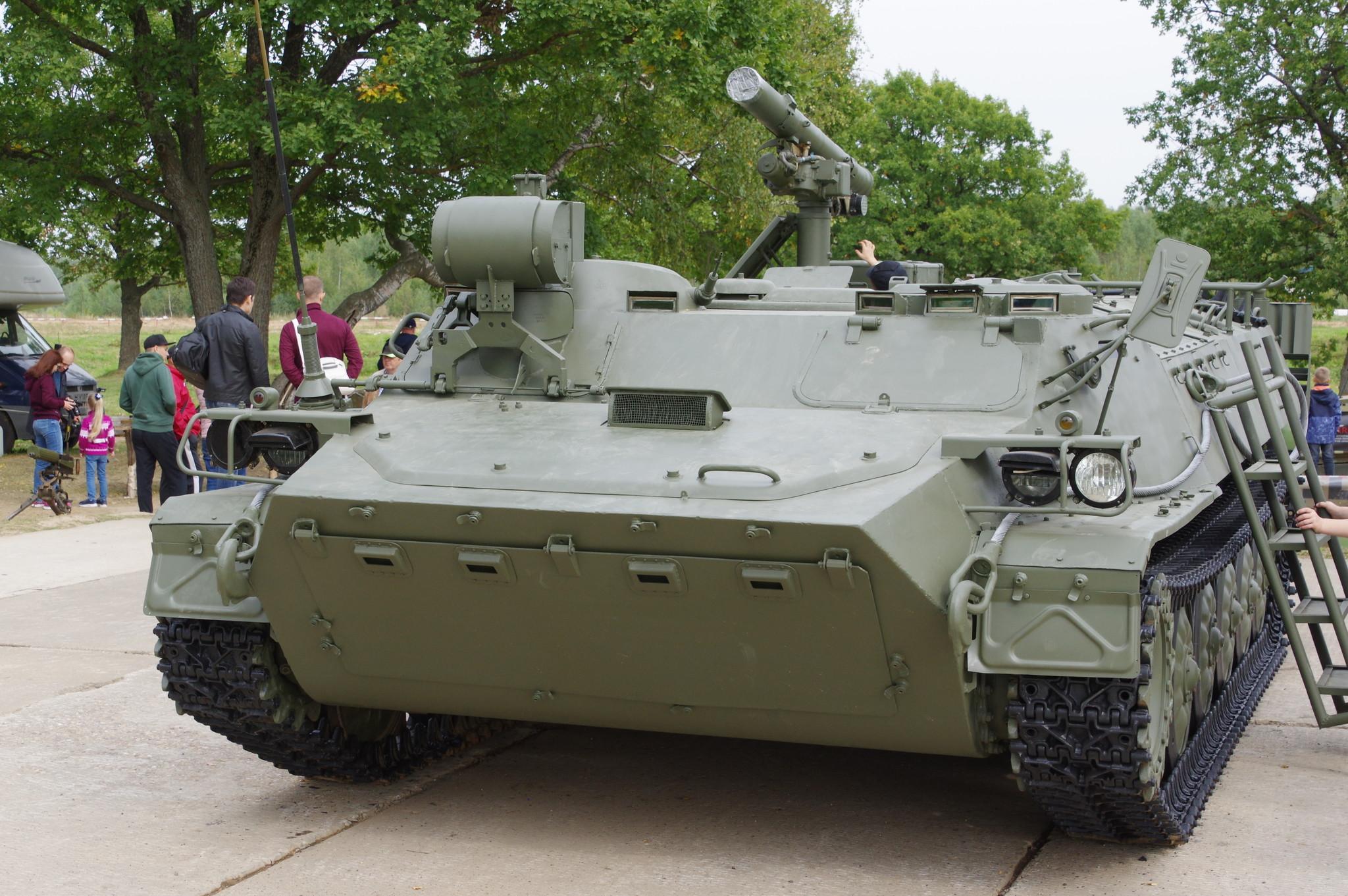 Боевая машина 9П149 ПТРК 9К114 «Штурм-С»