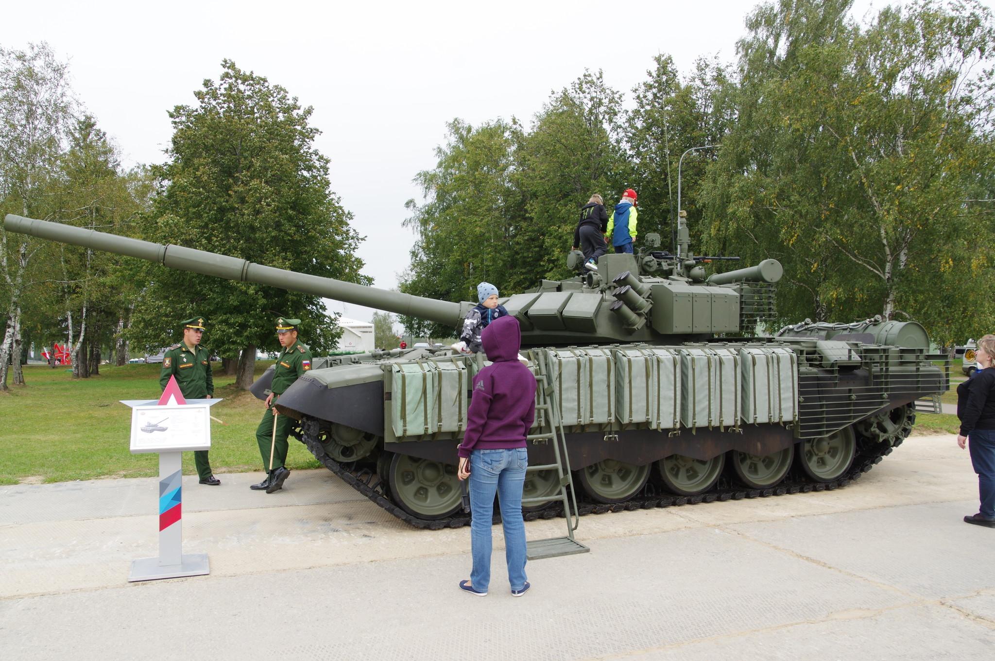 Основной боевой танк Т-72 Б3 с УБХ