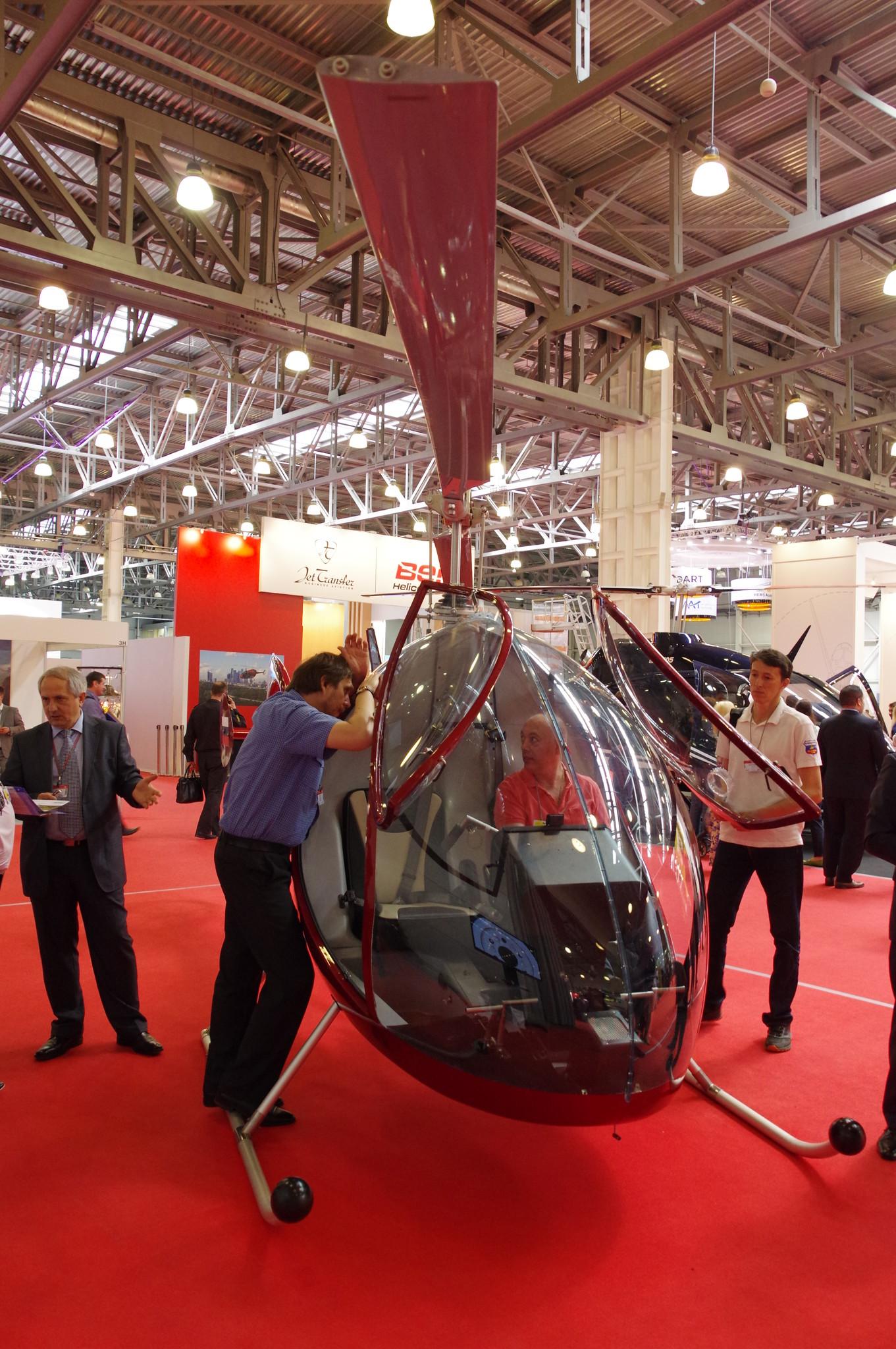 Лёгкий вертолёт Dynali H2S