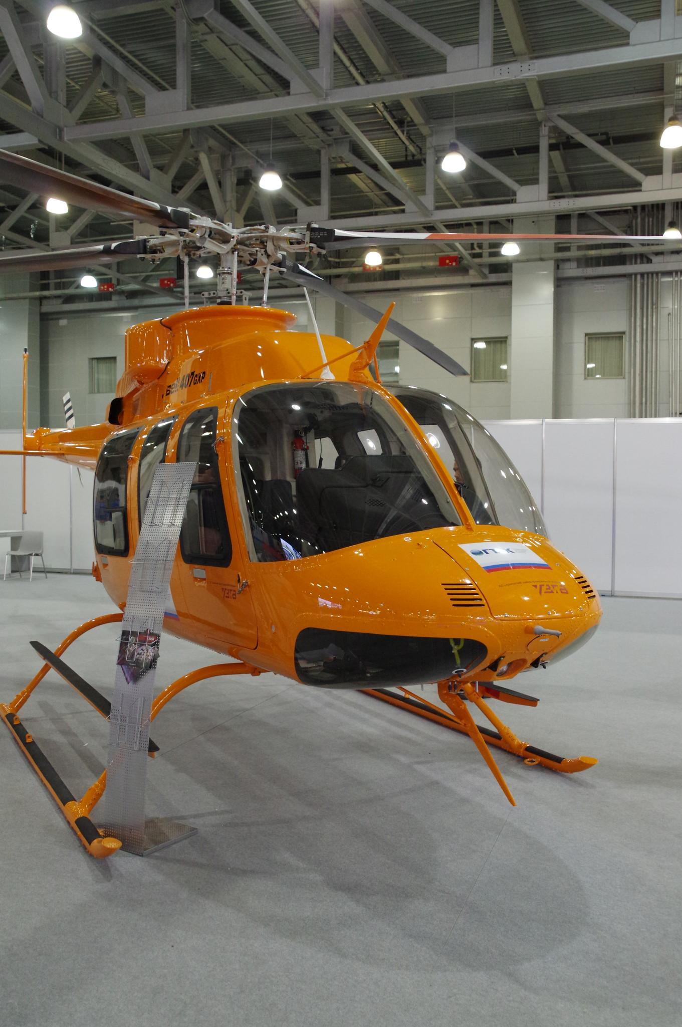 Лёгкий однодвигательный вертолёт Bell-407GXP
