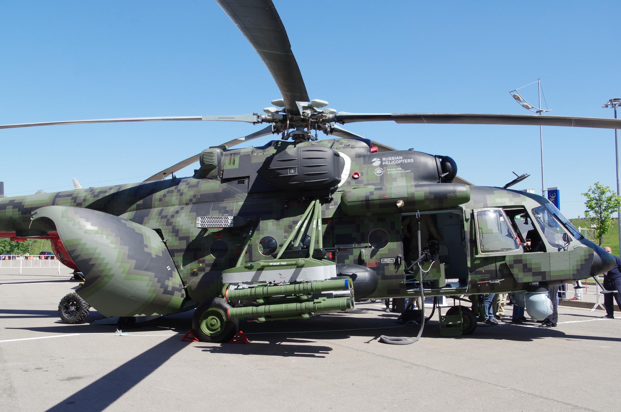 Ударно-транспортный вертолёт Ми-171Ш