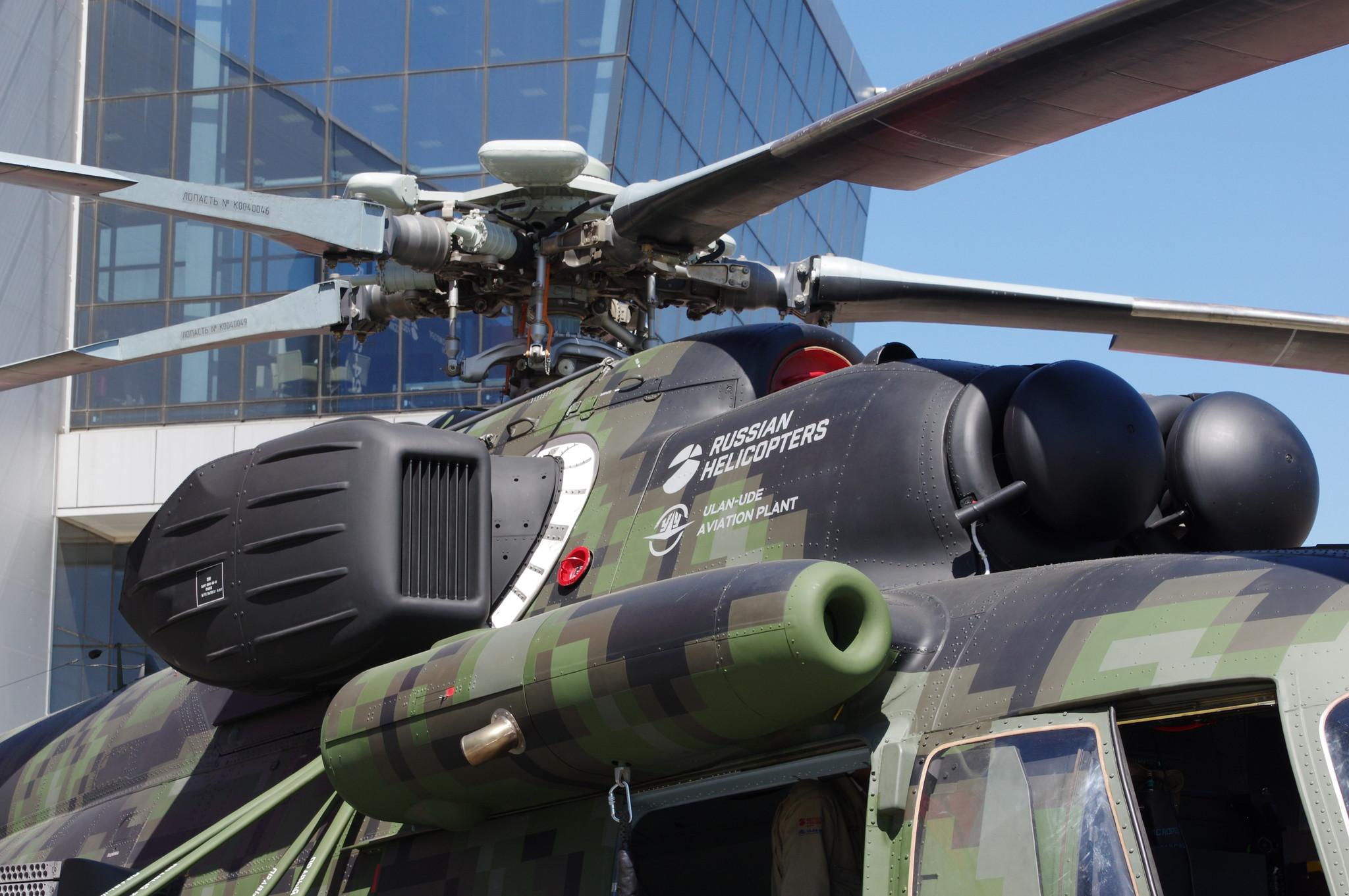 Военно-транспортный вертолёт Ми-171Ш