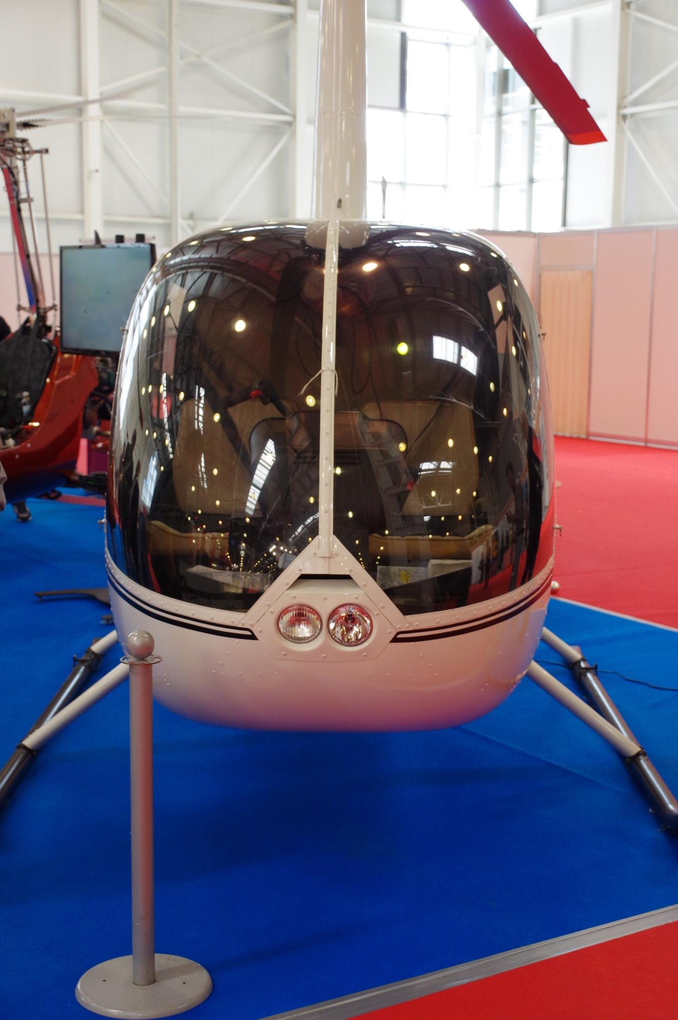 Лёгкий вертолёт Robinson R44 Raven II