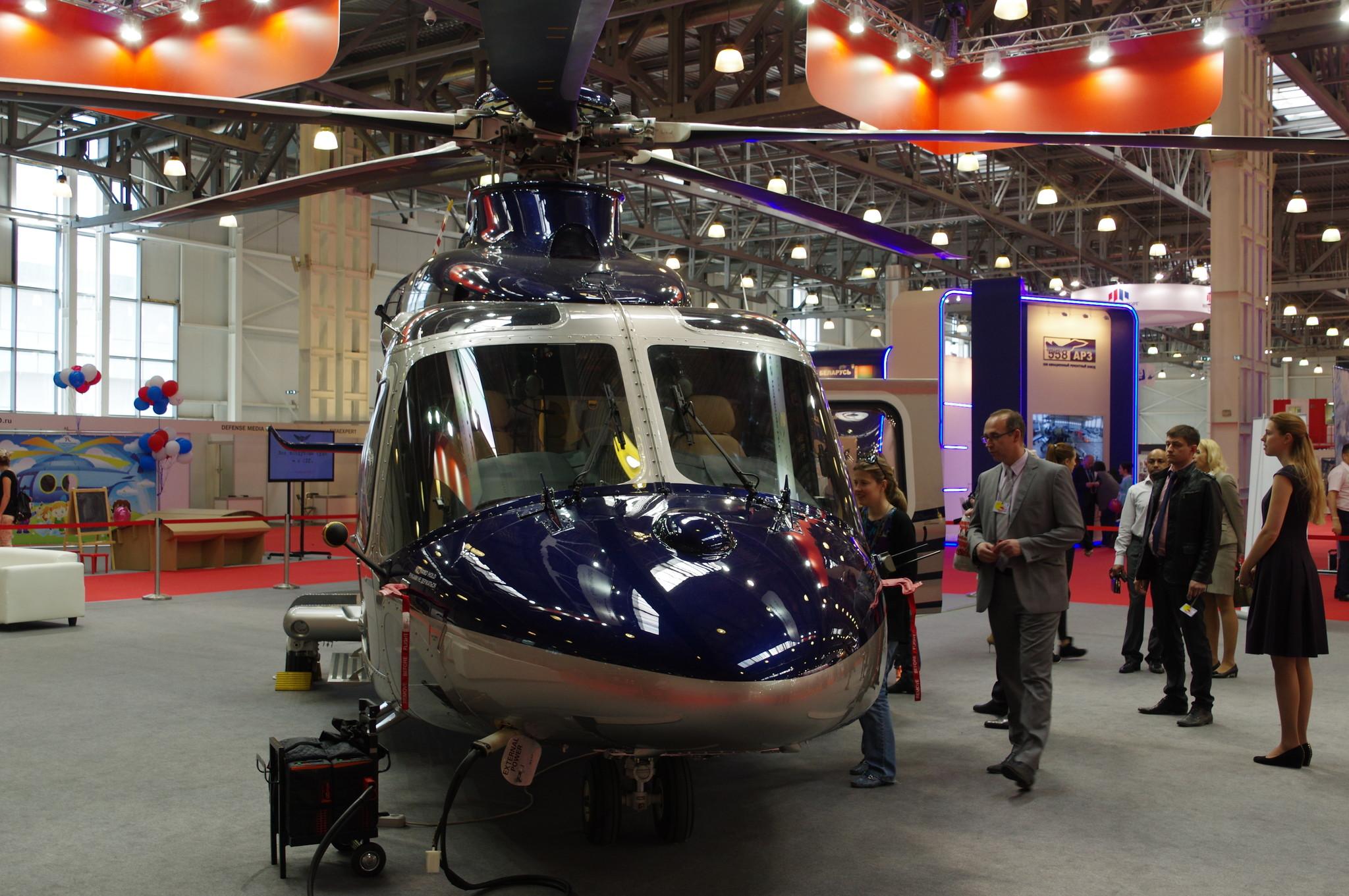 Многоцелевой вертолёт AgustaWestland AW139 (бортовой номер RA-01680)