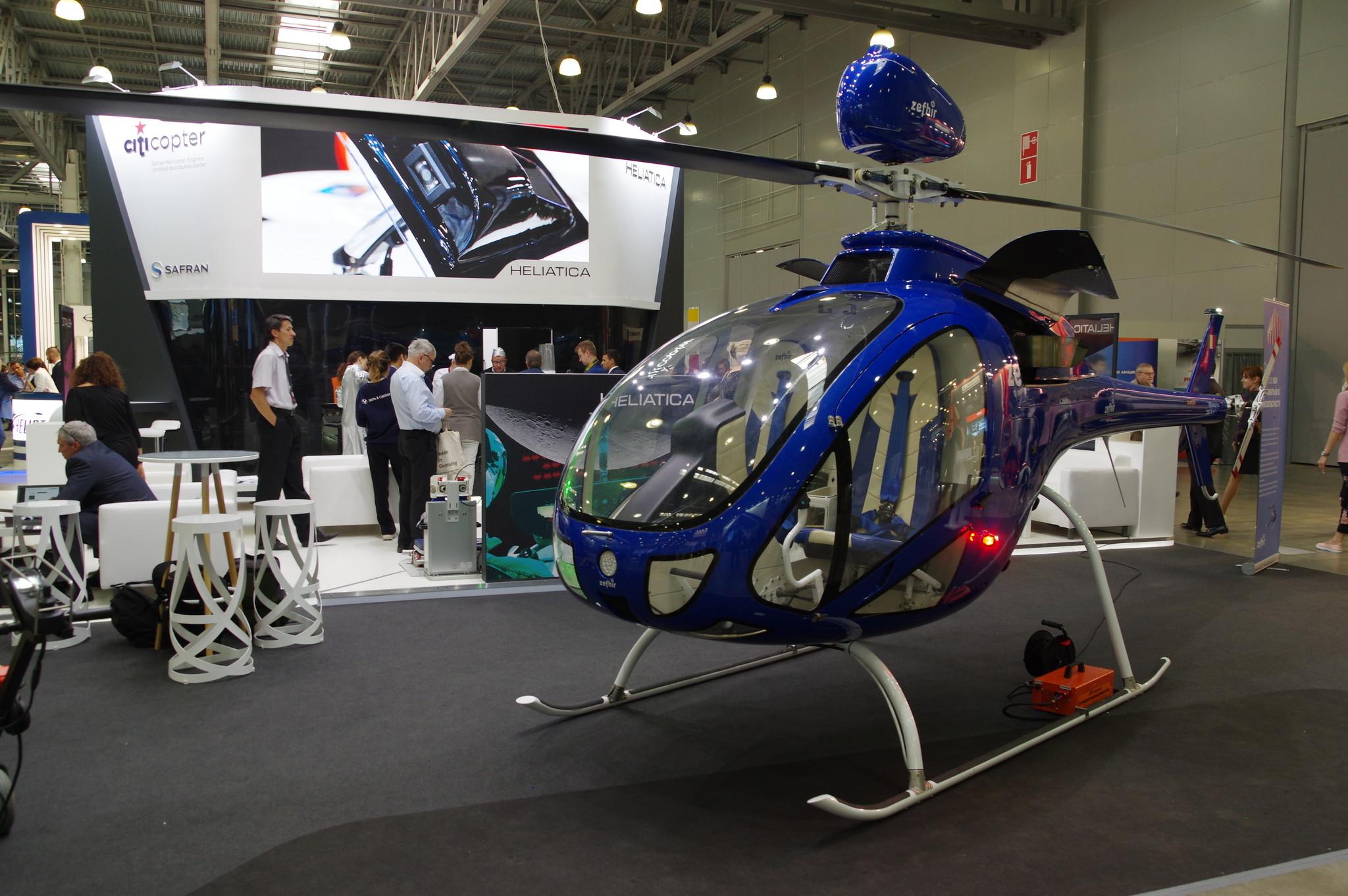 Итальянский вертолёт Zefhir