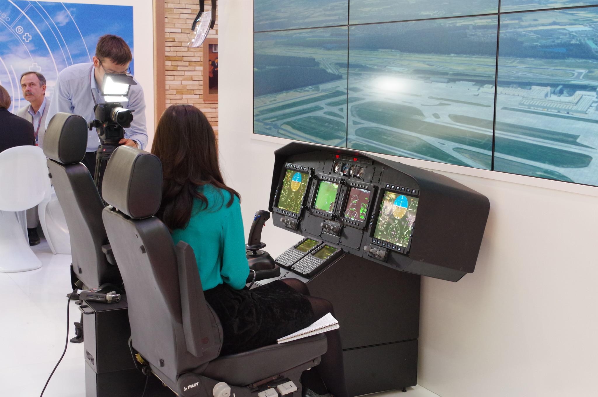 На Международной выставке вертолётной индустрии HeliRussia