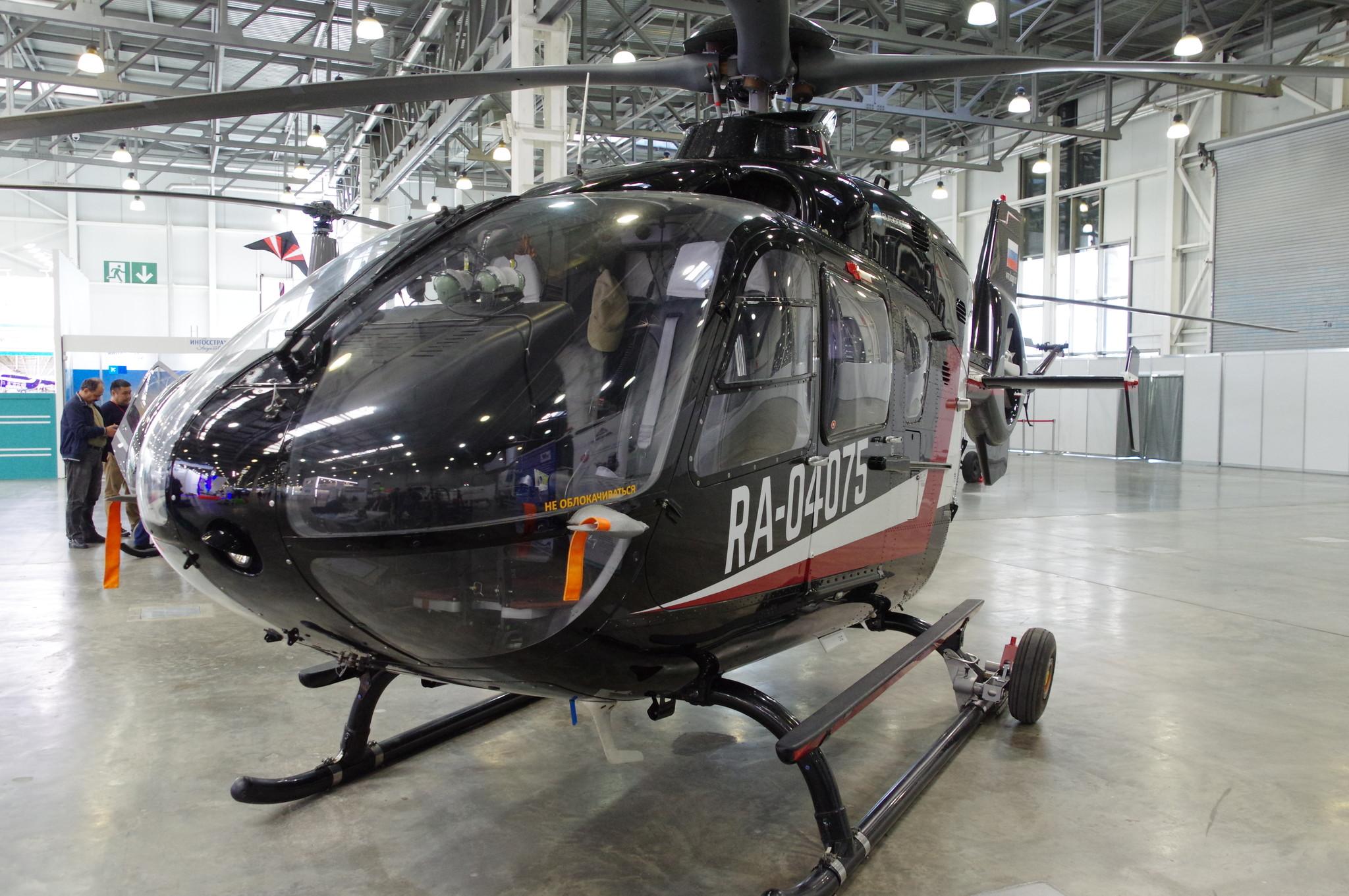 Вертолёт Eurocopter EC135 P2+ (RA-04075)