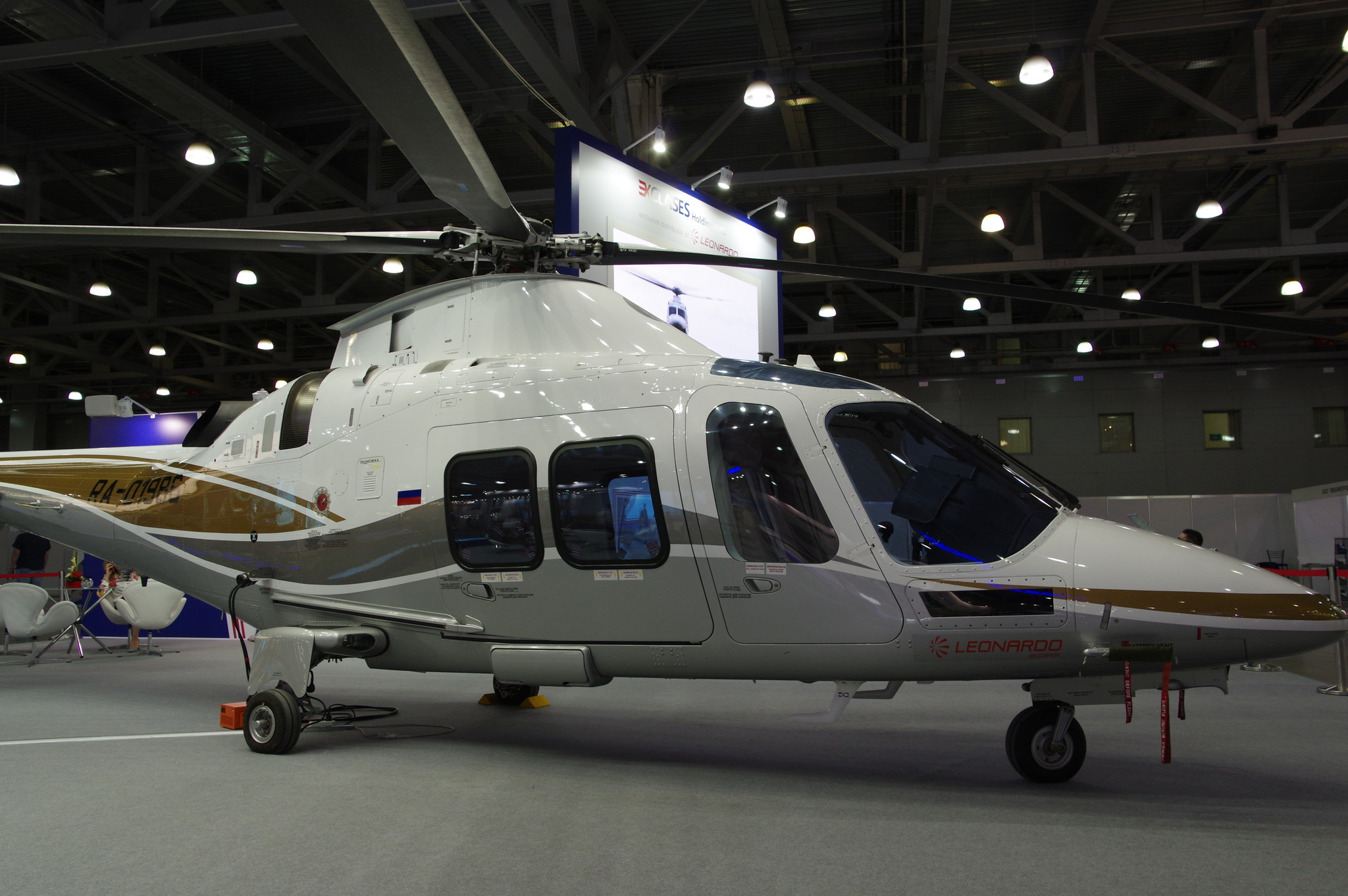 Вертолёт Agusta Westland AW109