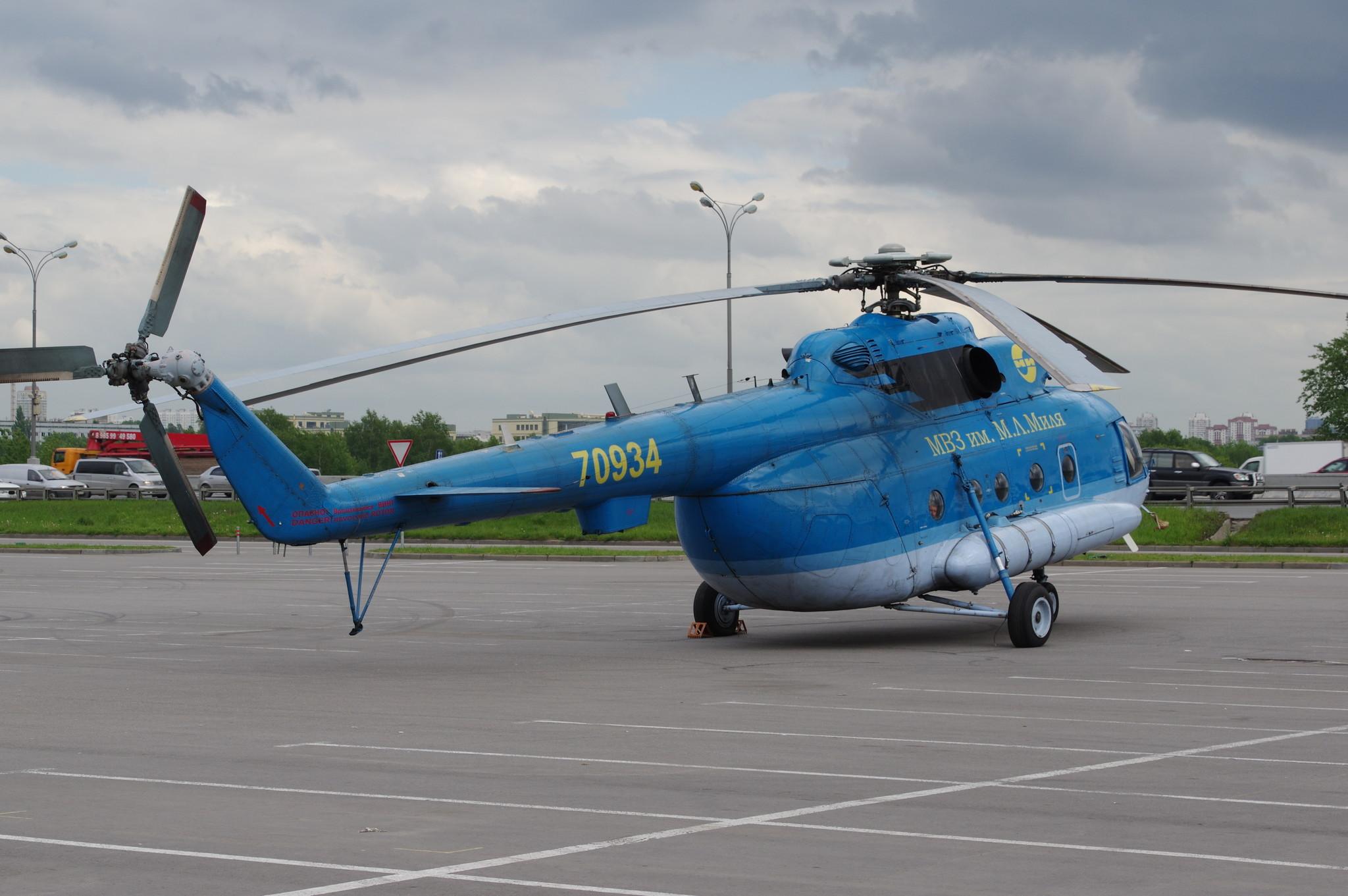 Ми-8МТ (бортовой номер RA - 70934) МВЗ им. М.Л. Миля