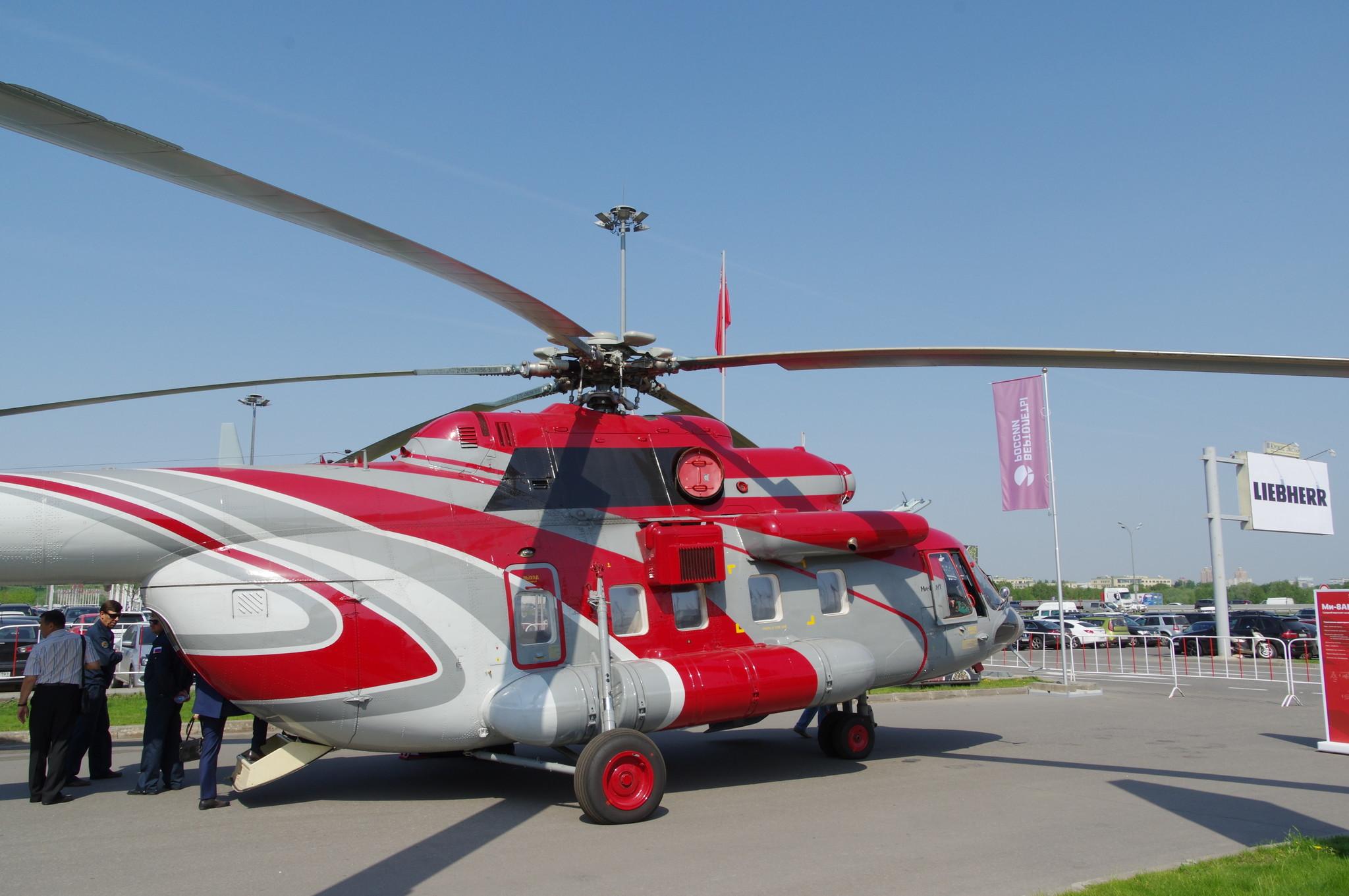 Многоцелевой вертолёт Ми-8АМТ