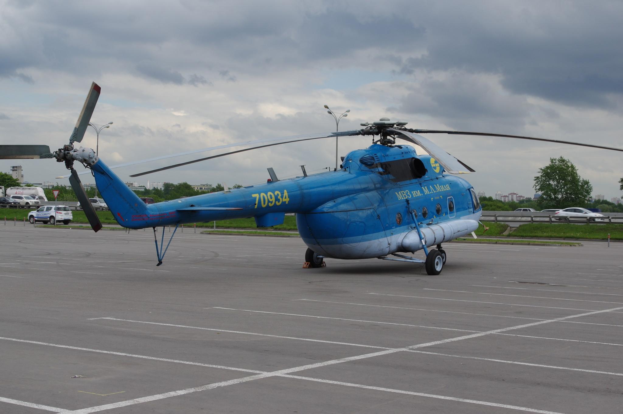Вертолёт Ми-8МТ (бортовой номер RA - 70934) МВЗ им. Миля