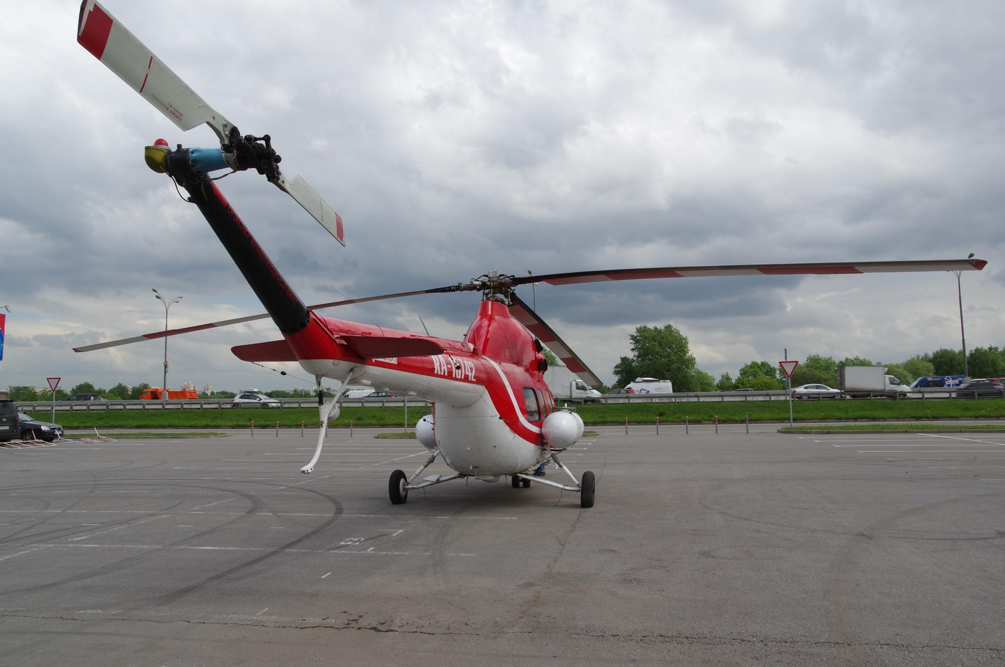 Вертолёт Ми-2 (бортовой номер RA - 15742)
