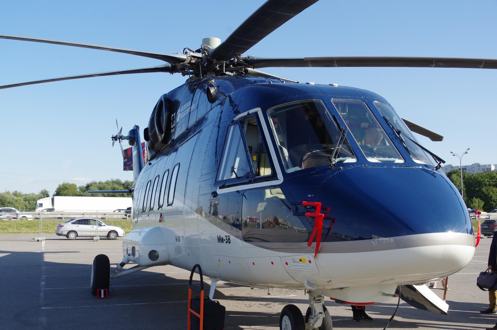Вертолёт Ми-38