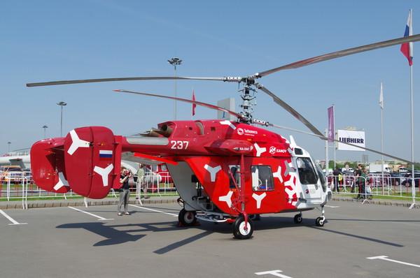 Лёгкий многоцелевой вертолёт с соосной схемой несущих винтов Ка-226Т