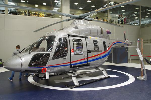 «Ансат» — лёгкий двухдвигательный многоцелевой вертолёт