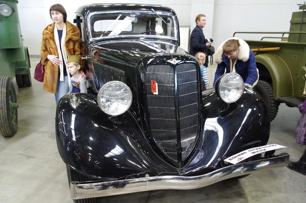 Легковой автомобиль ГАЗ-М1