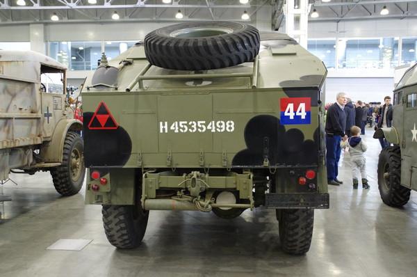 Артиллерийский тягач Chevrolet Canada 8440/CGT FAT Cab 12 (Канада) из Музея Внедерожных машин г. Самара