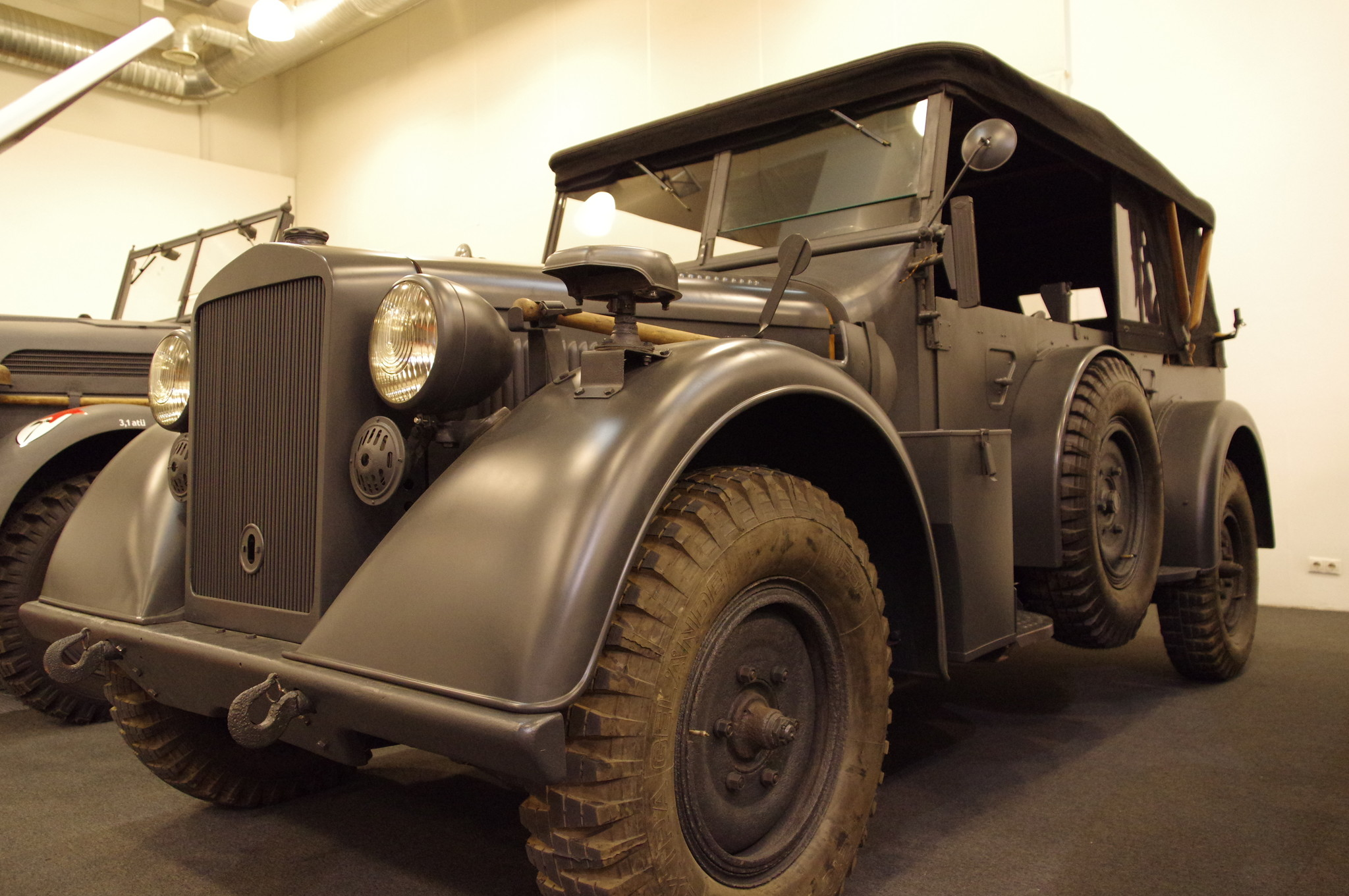 Автомобиль m. PKW Kfz 15 Horch 901 1938 года выпуска