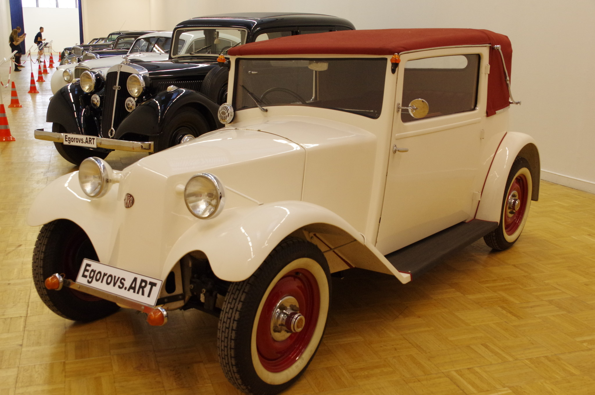 Автомобиль Tatra 57 (год выпуска 1934)