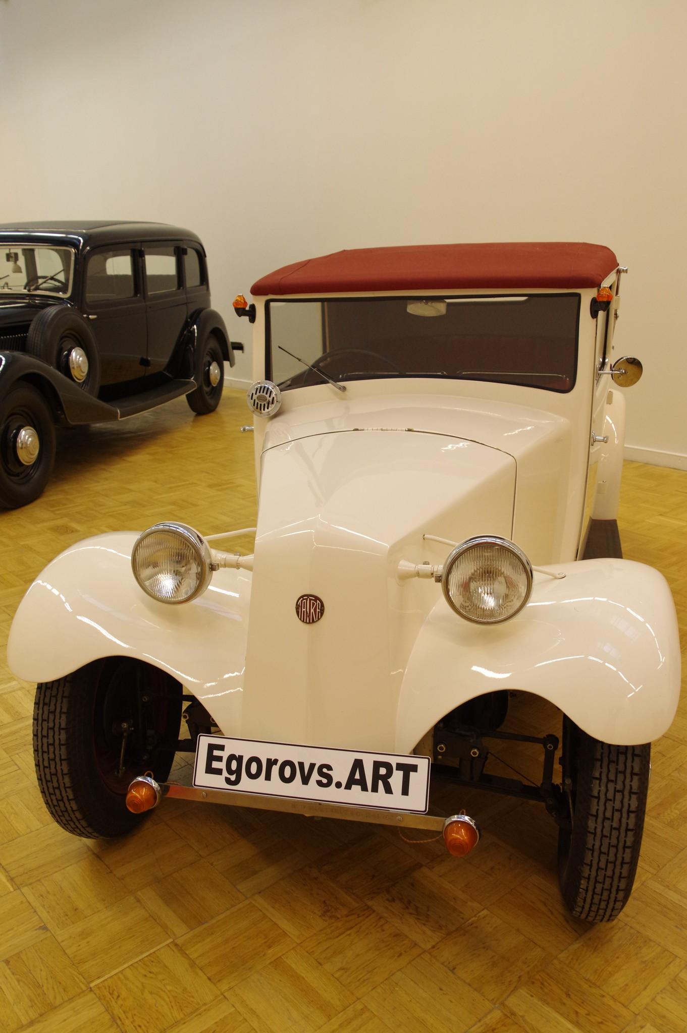 Автомобиль Tatra 57 (кабриолет 1934 года выпуска)