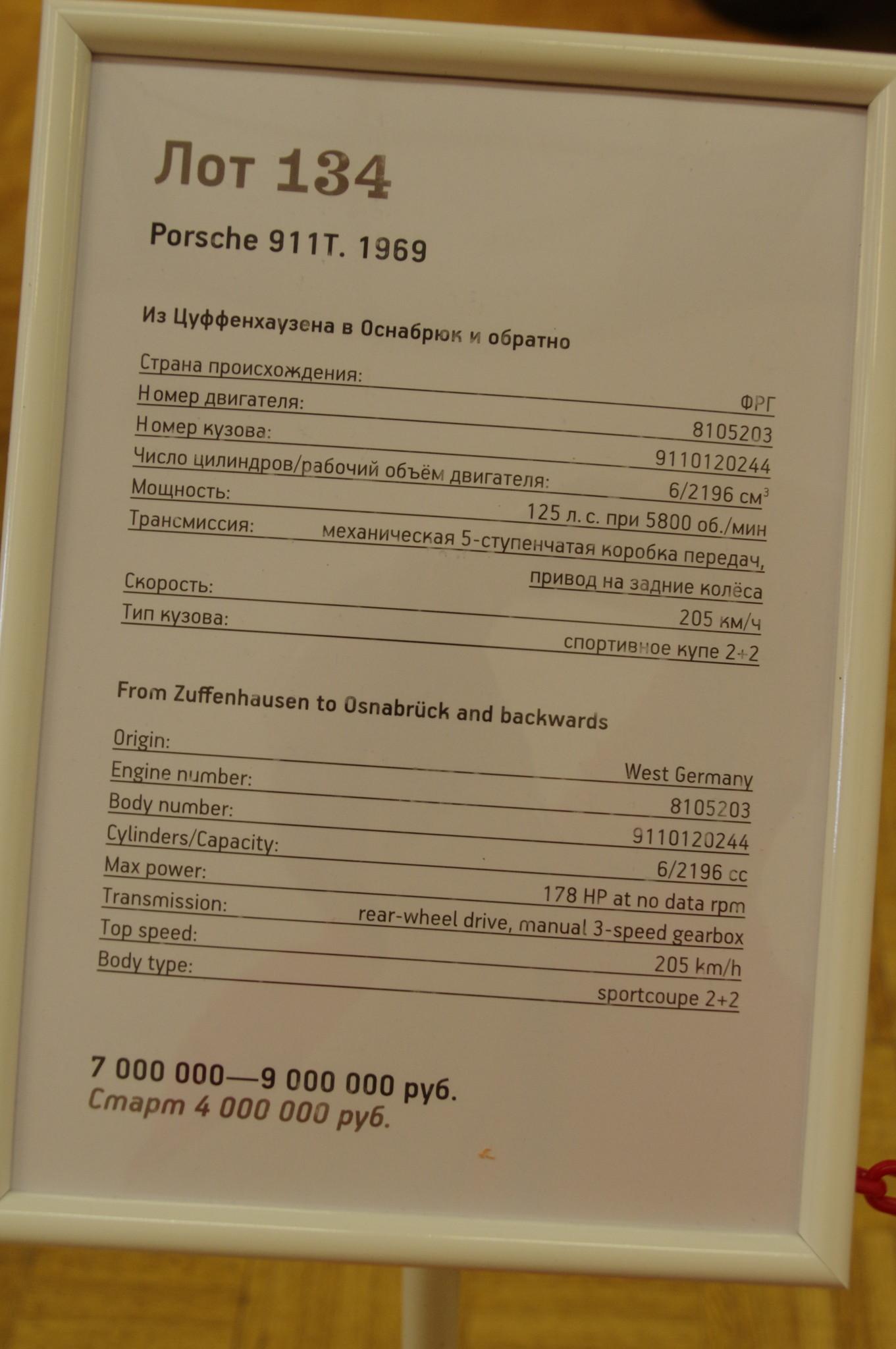 Выставка-аукцион «Редкие автомобили» в Центральном доме художника