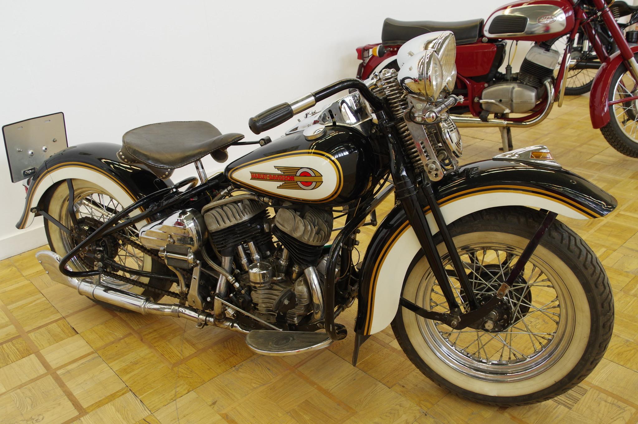 Мотоцикл Harley-Davidson WLA 42. 1945 год