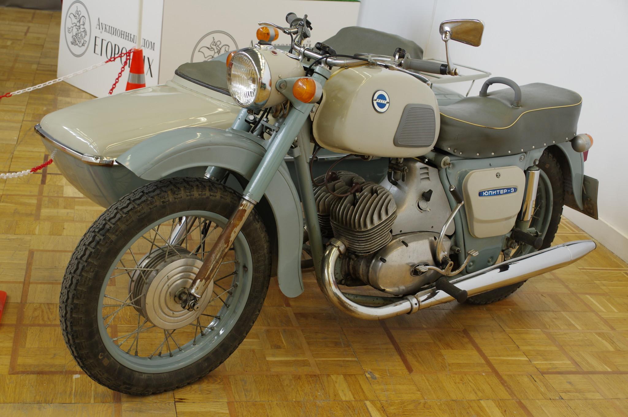 Дорожный мотоцикл «Иж Юпитер-3К»