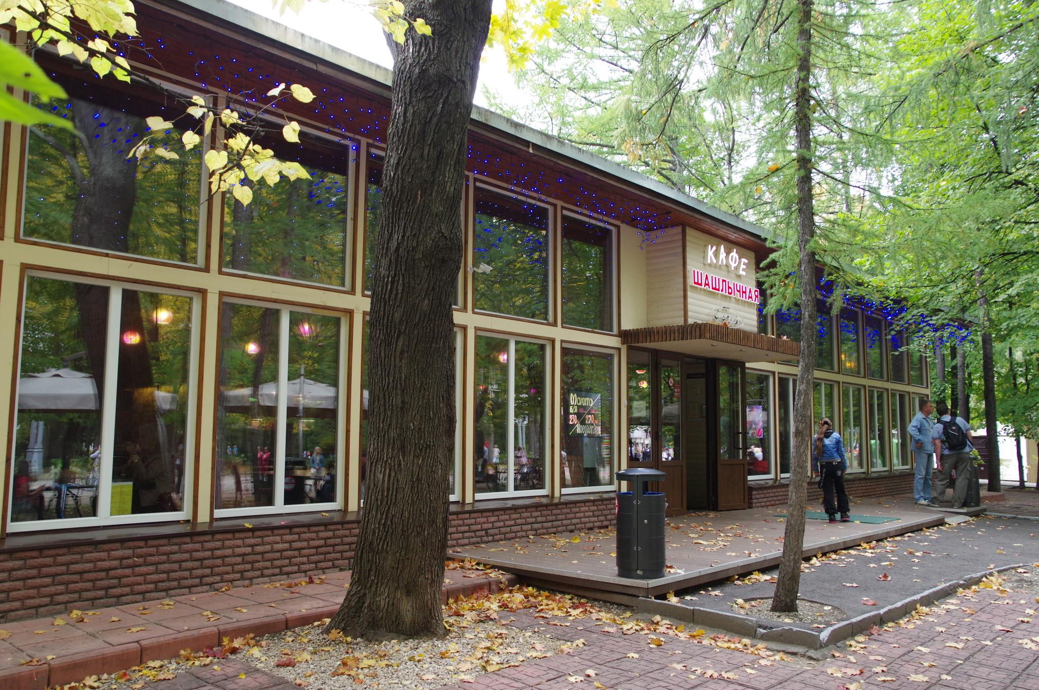 Кафе «Шашлычная» в Парке Сокольники (2-й Лучевой просек, дом 2)
