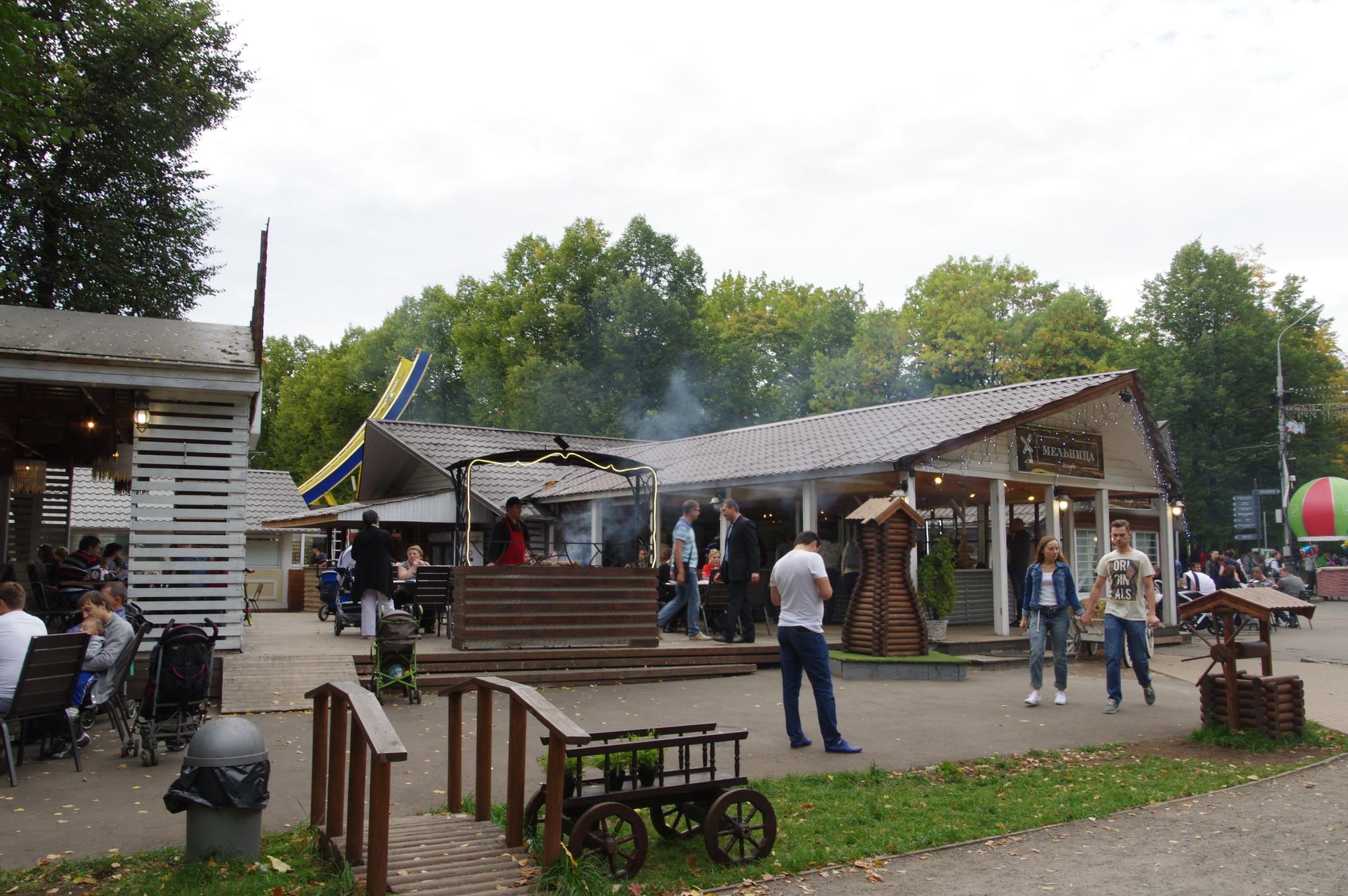 Кафе «Мельница» в парке «Сокольники» (Песочная аллея, 1-2)