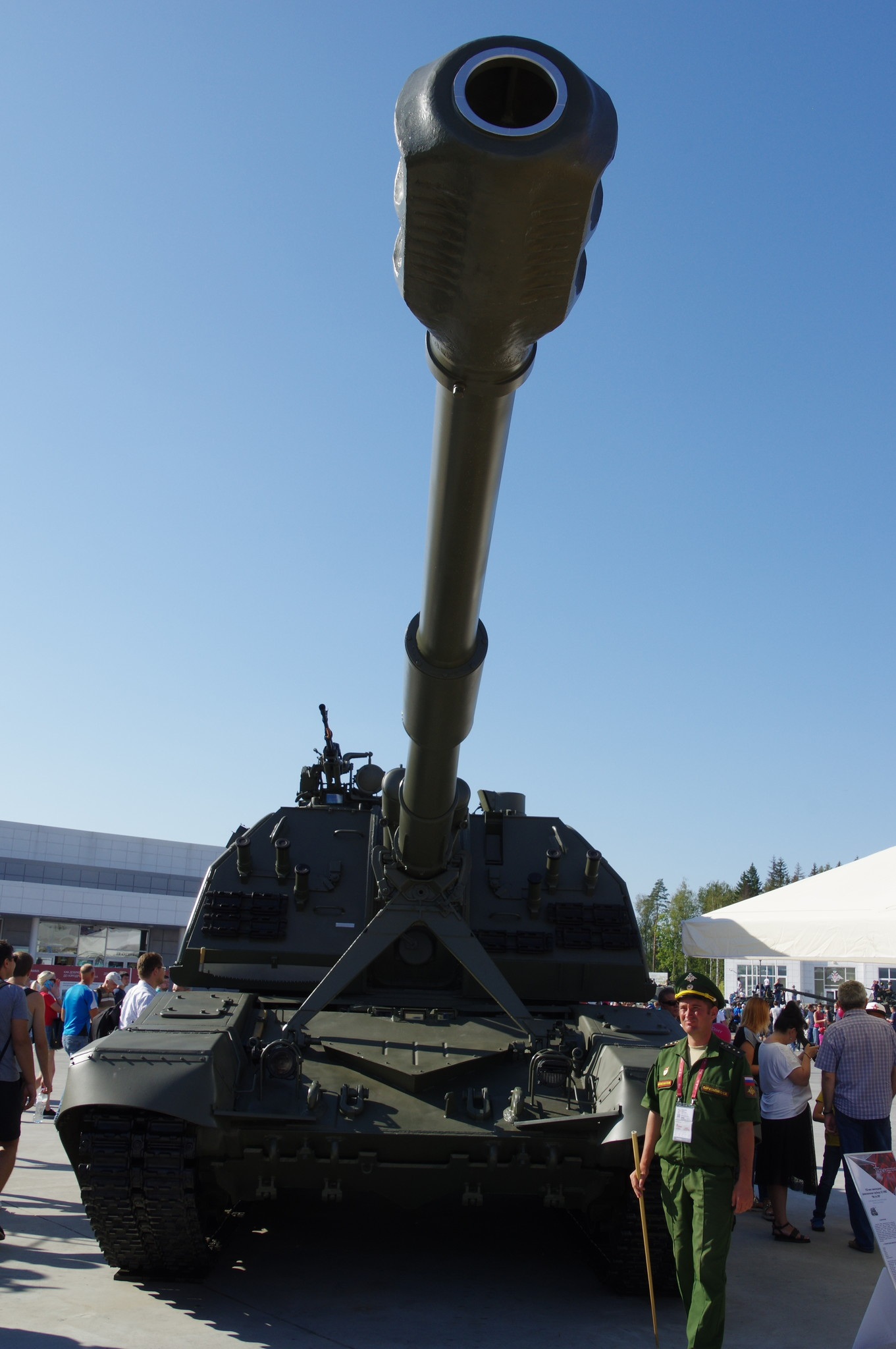 152-мм самоходная дивизионная гаубица 2С19М2