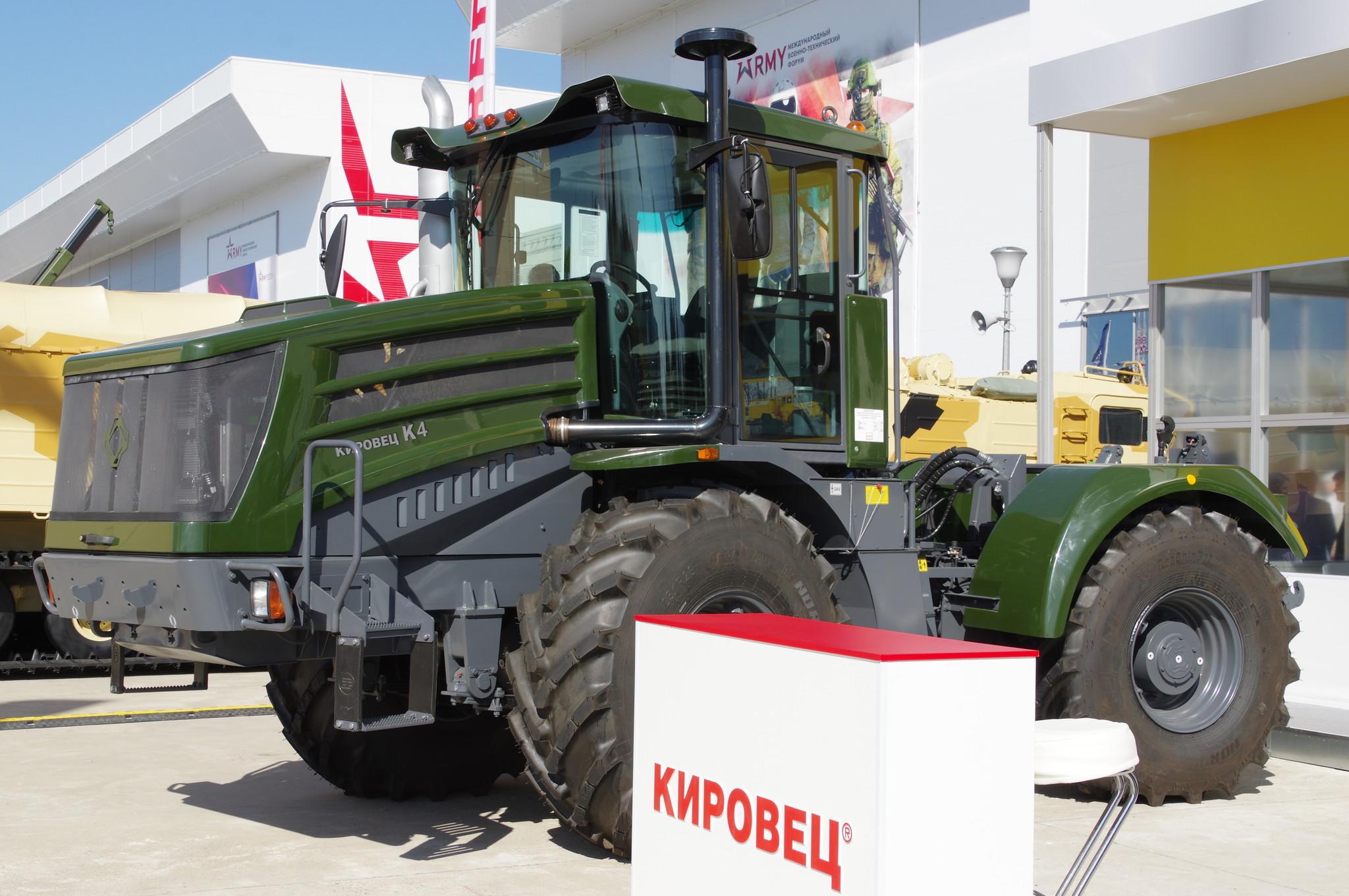 Трактор К-4 «Кировец»