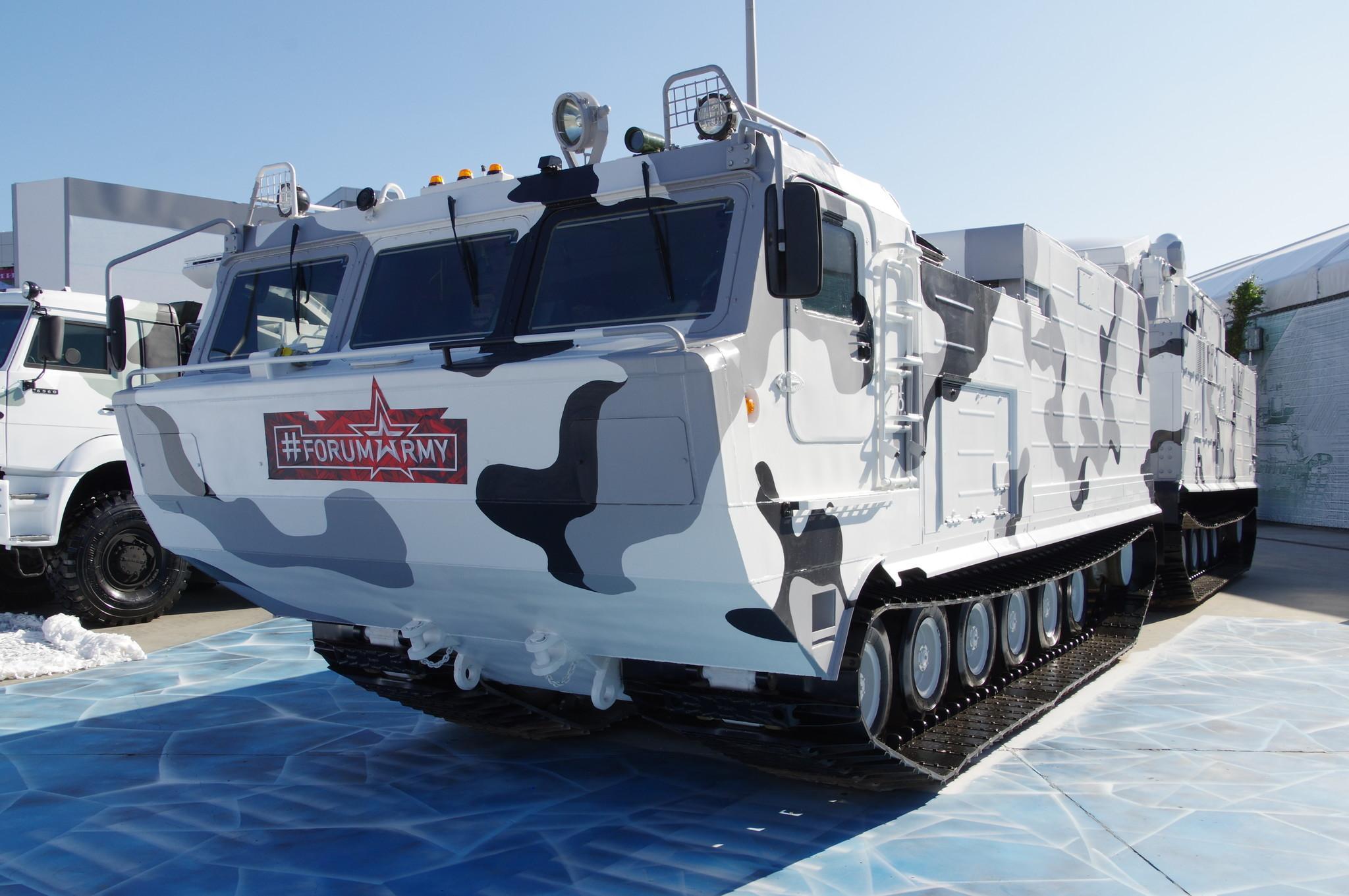 Боевая машина 9А 331МДТ из состава зенитного ракетного комплекса 9К 331МДТ («Тор-М2ДТ»)