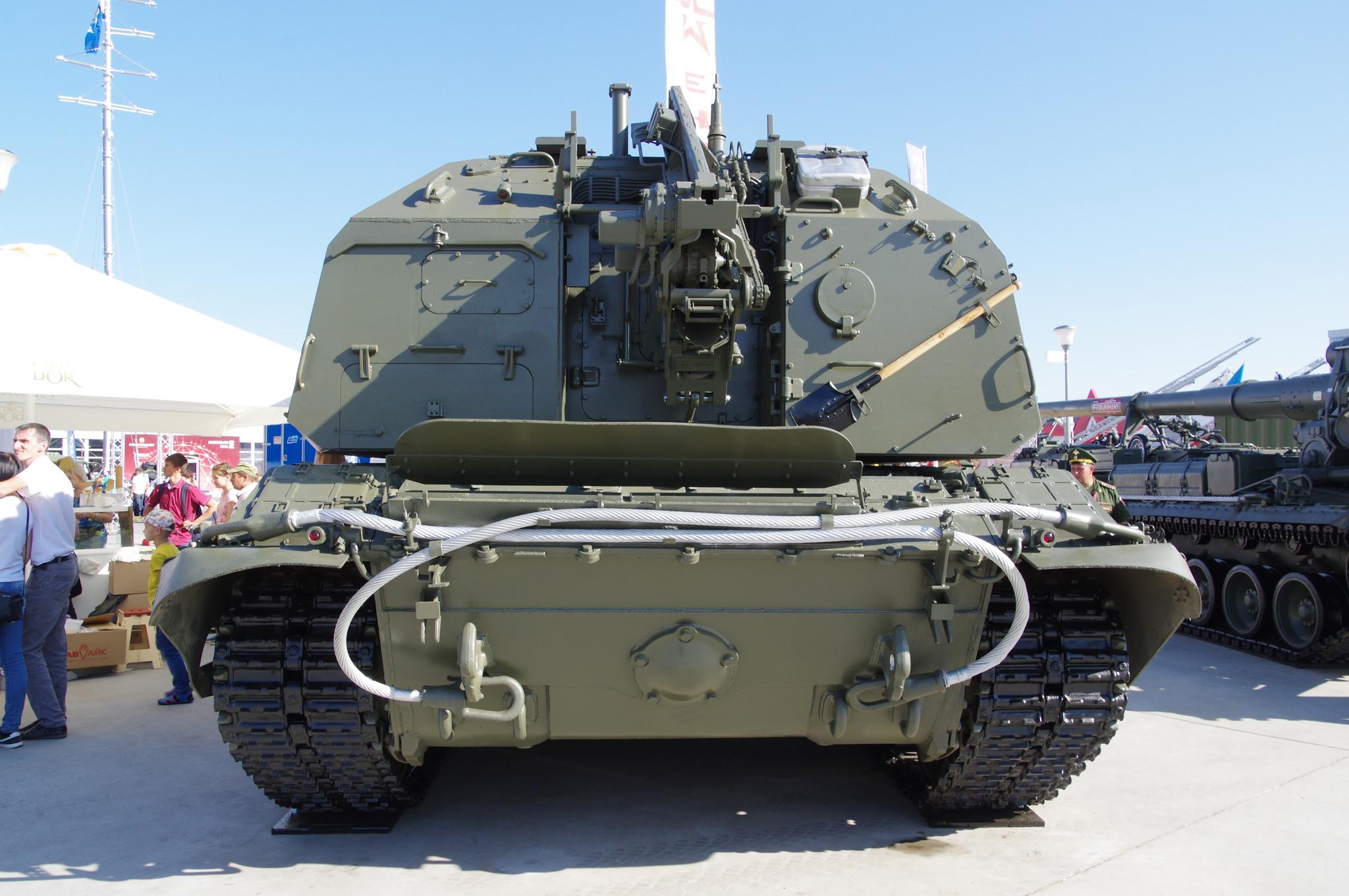 152-мм самоходная дивизионная гаубица 2С19М2 «Мста-СМ»