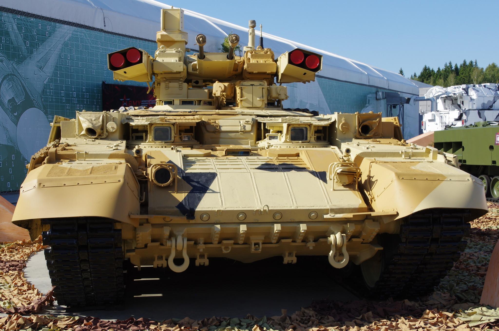 Боевая машина поддержки танков БМПТ «Терминатор»