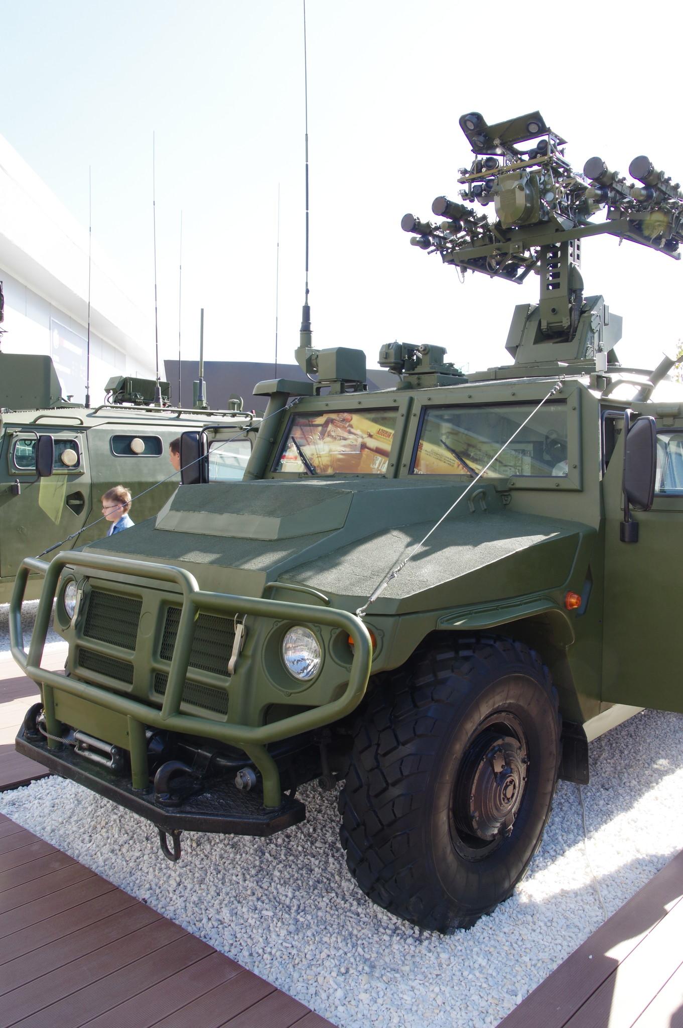 Боевая машина отделения ПЗРК «Гибка-С»