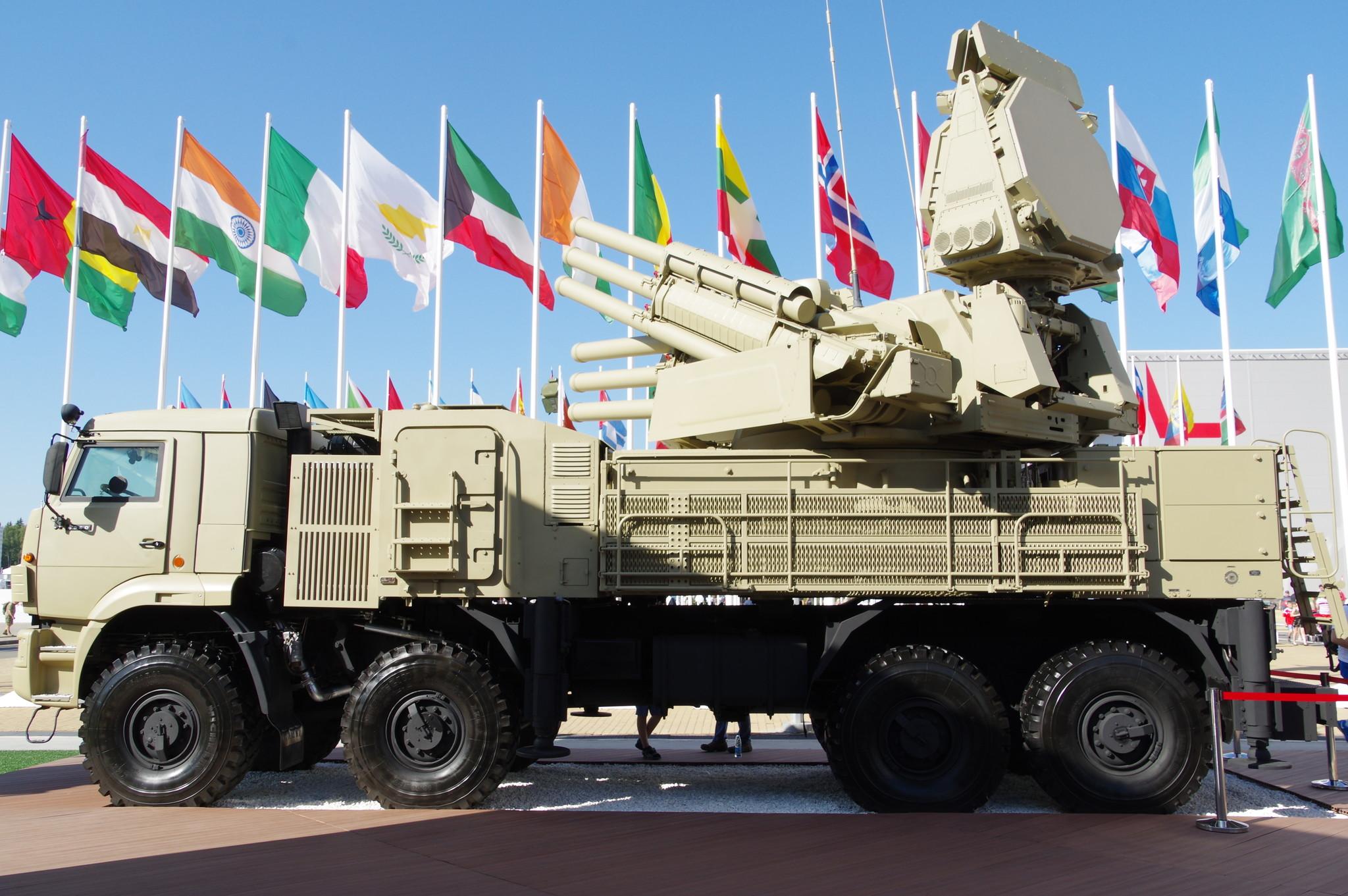 Зенитный ракетно-пушечный комплекс «Панцирь-1С»
