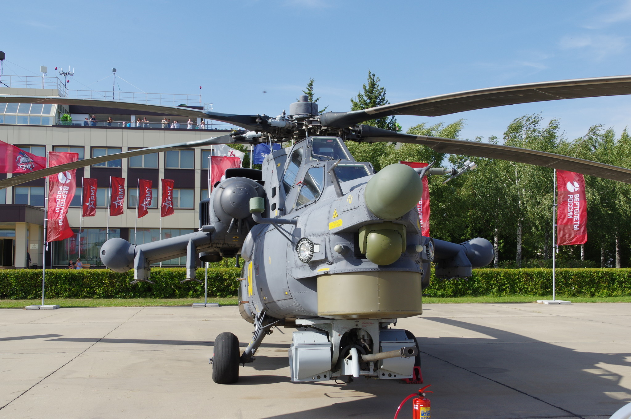 Ударный вертолёт Ми-28Н