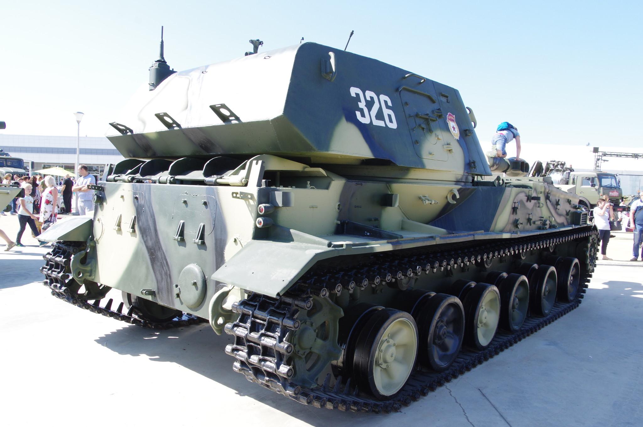 Самоходная артиллерийская установка 2С3М «Акация»