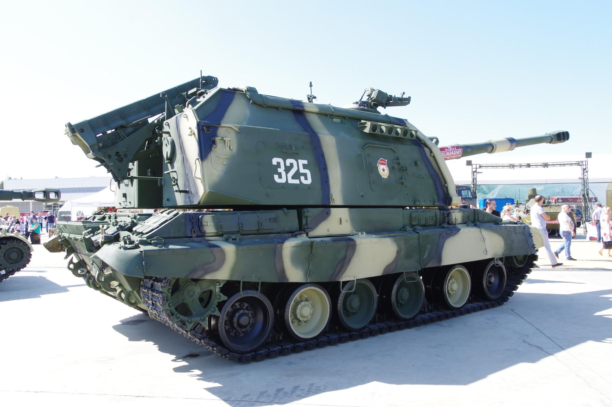 152-мм самоходная дивизионная гаубица 2С19 «Мста-С»