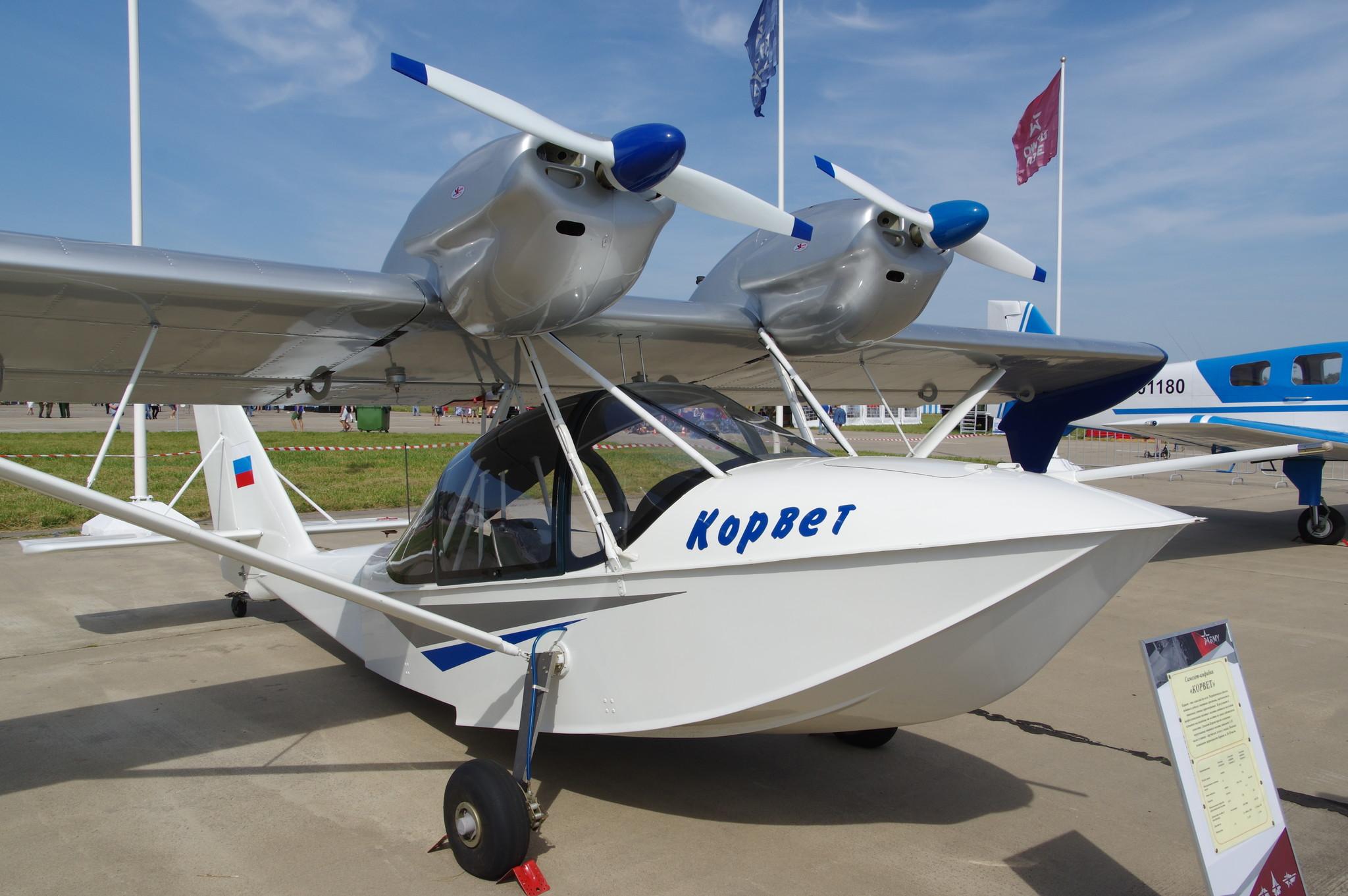 Самолёт-амфибия «Корвет»