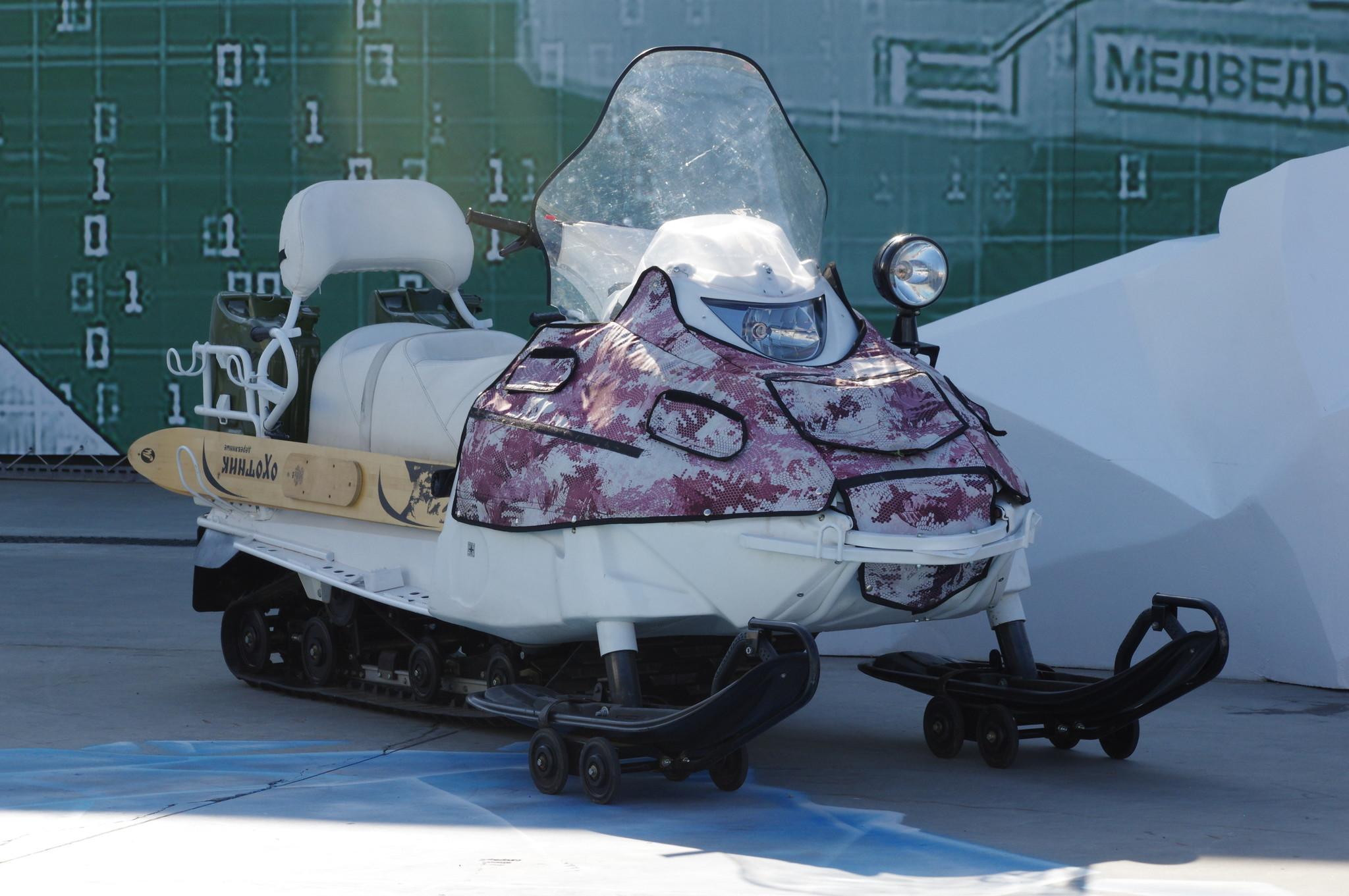 Армейский снегоход А-1