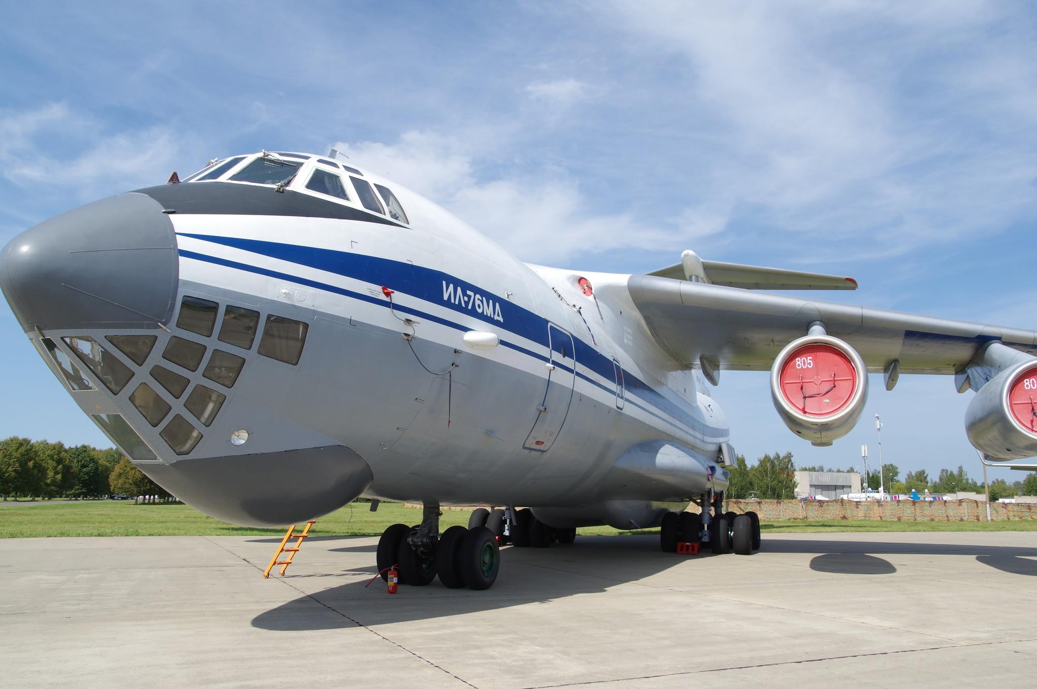Транспортный самолёт Ил-76МД