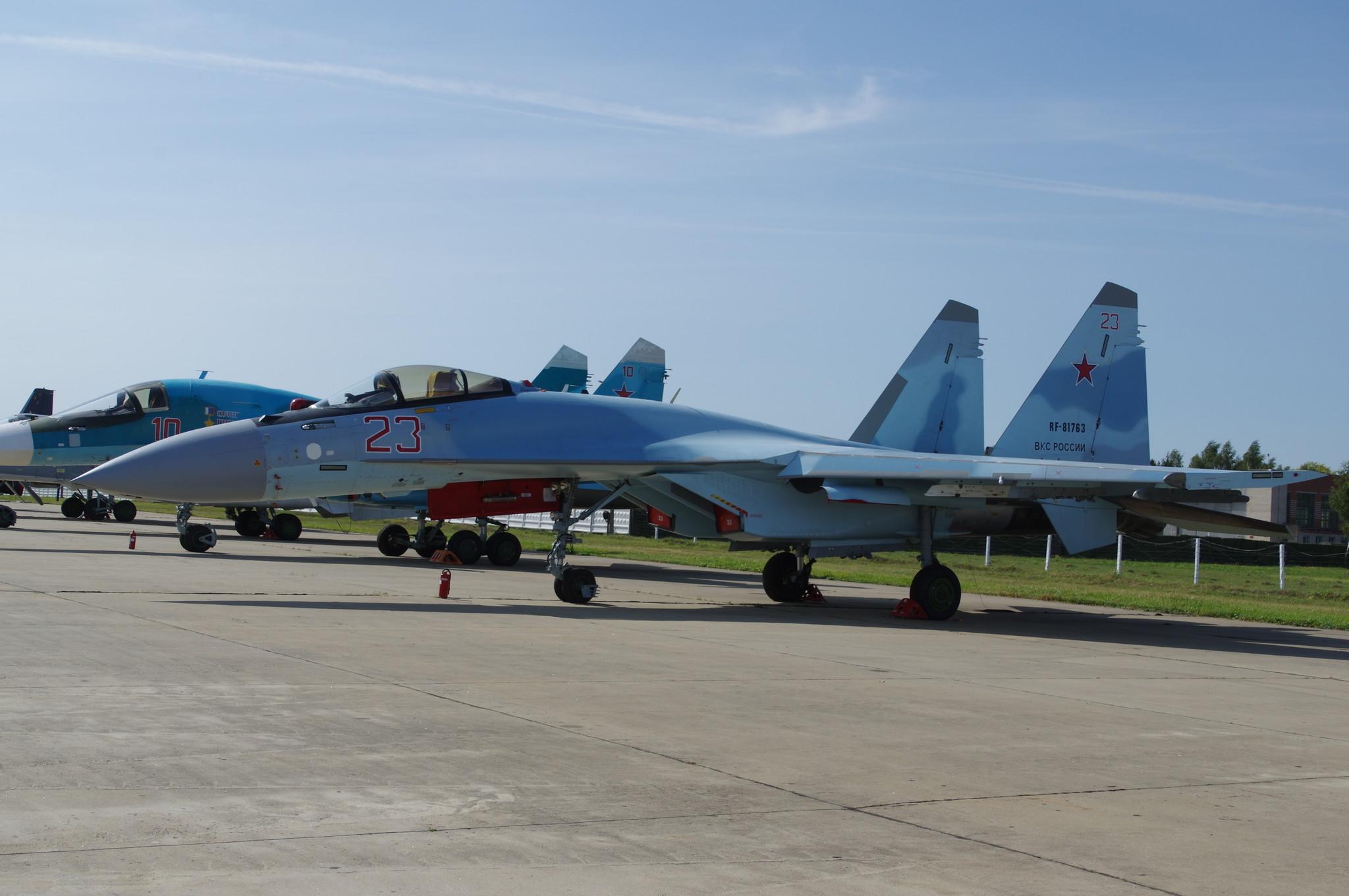 Многоцелевой истребитель Су-35С