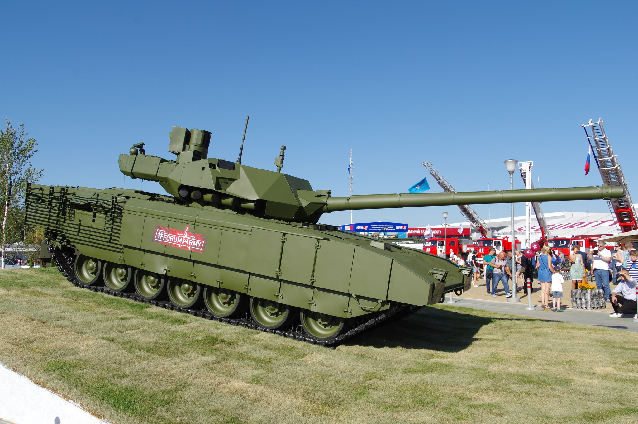 Основной боевой танк Т-14 «Армата»