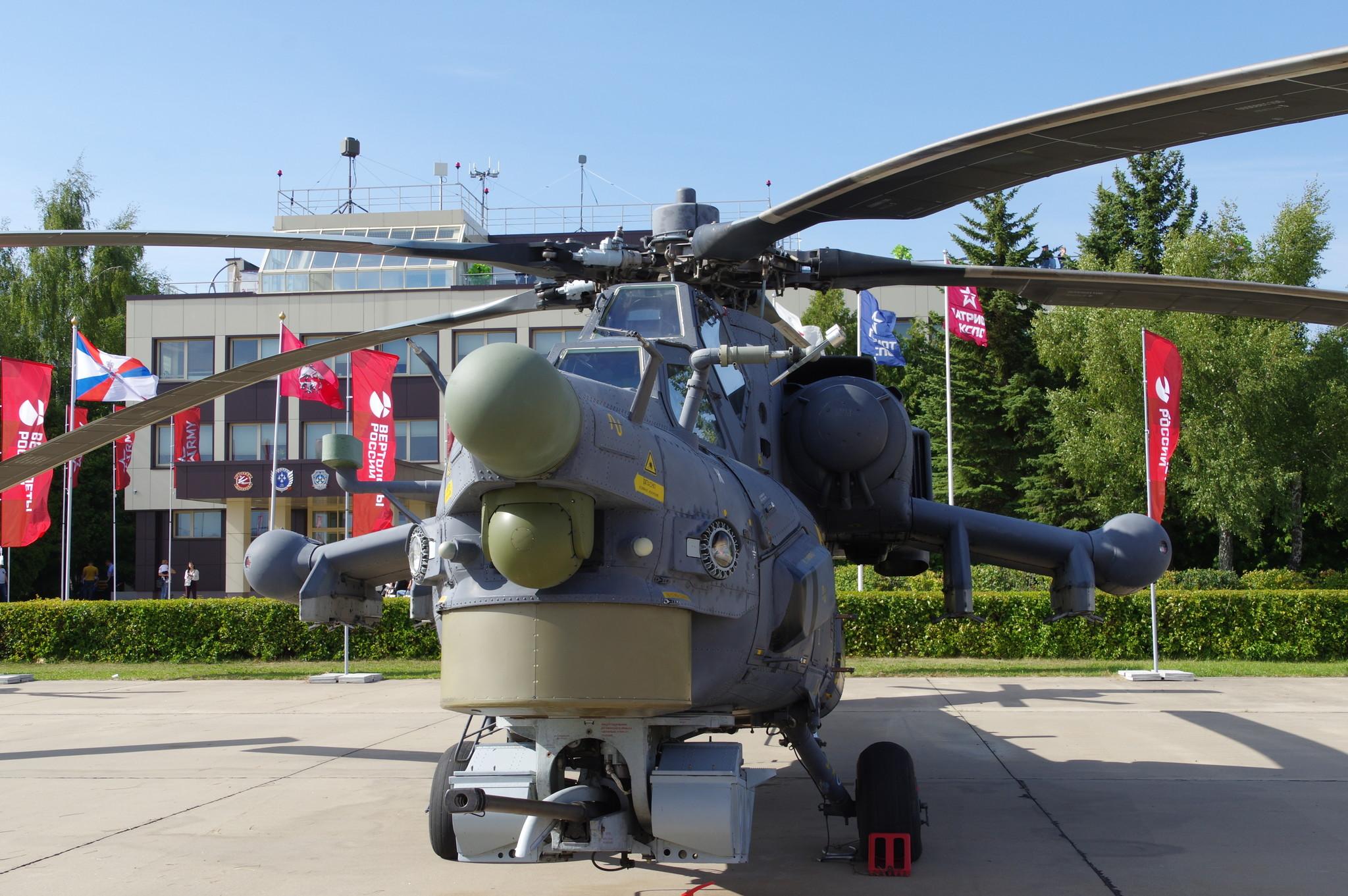 Ударный вертолёт Ми-28Н «Ночной охотник»