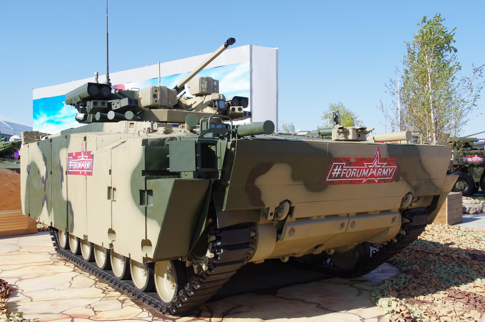 Боевая машина пехоты «Курганец-25»