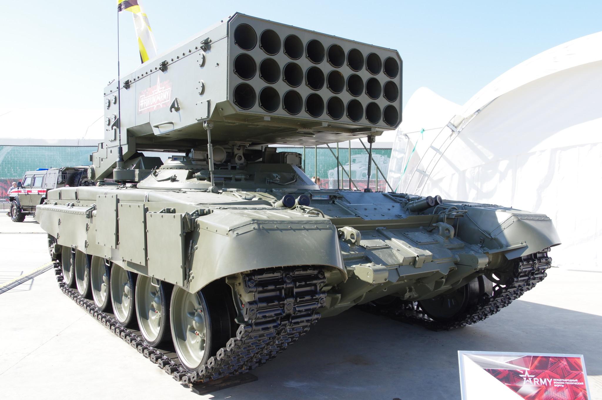 Тяжёлая огнемётная система ТОС-1А «Солнцепёк»