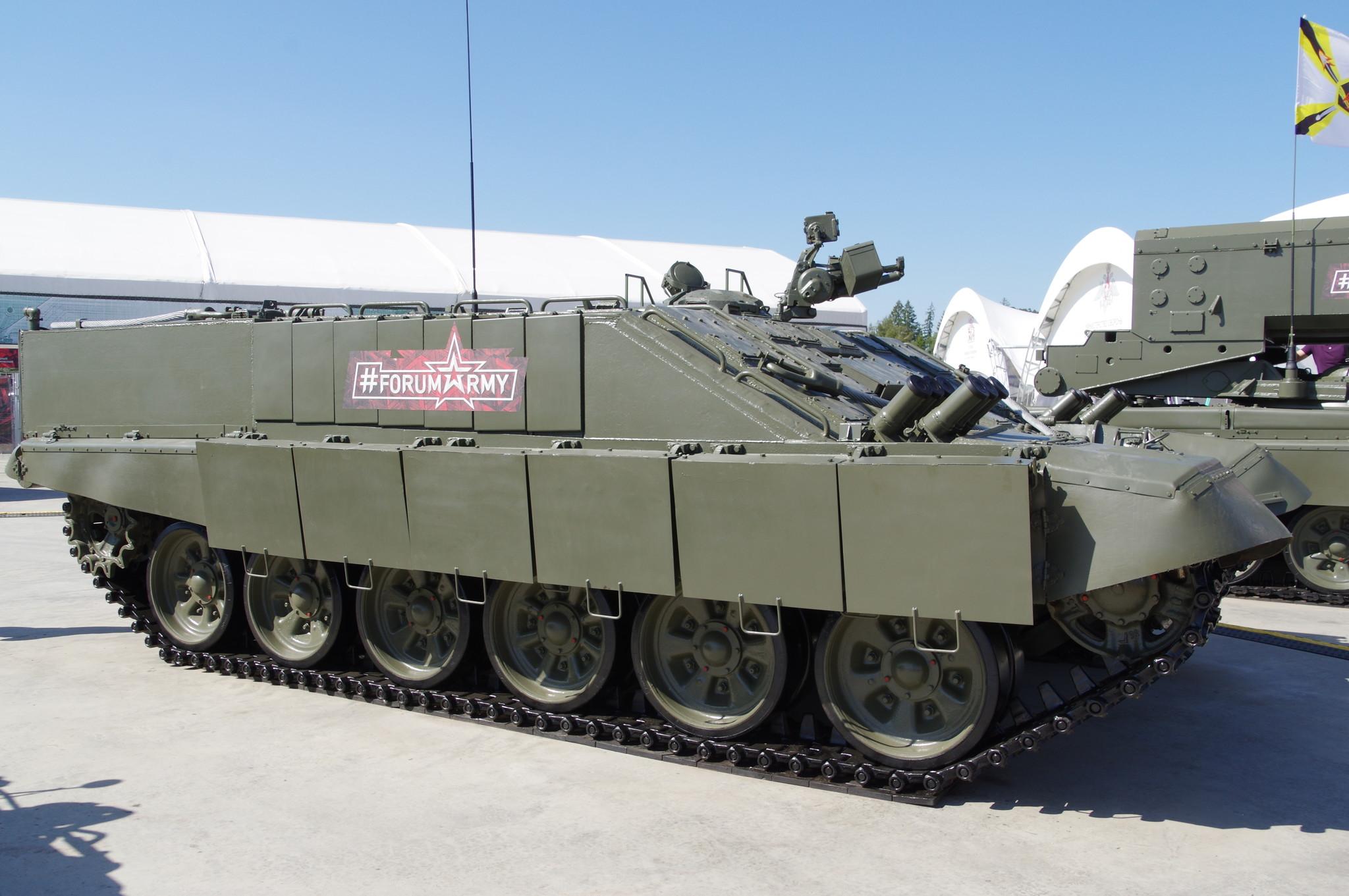 Боевая машина огнемётчиков БМО-Т
