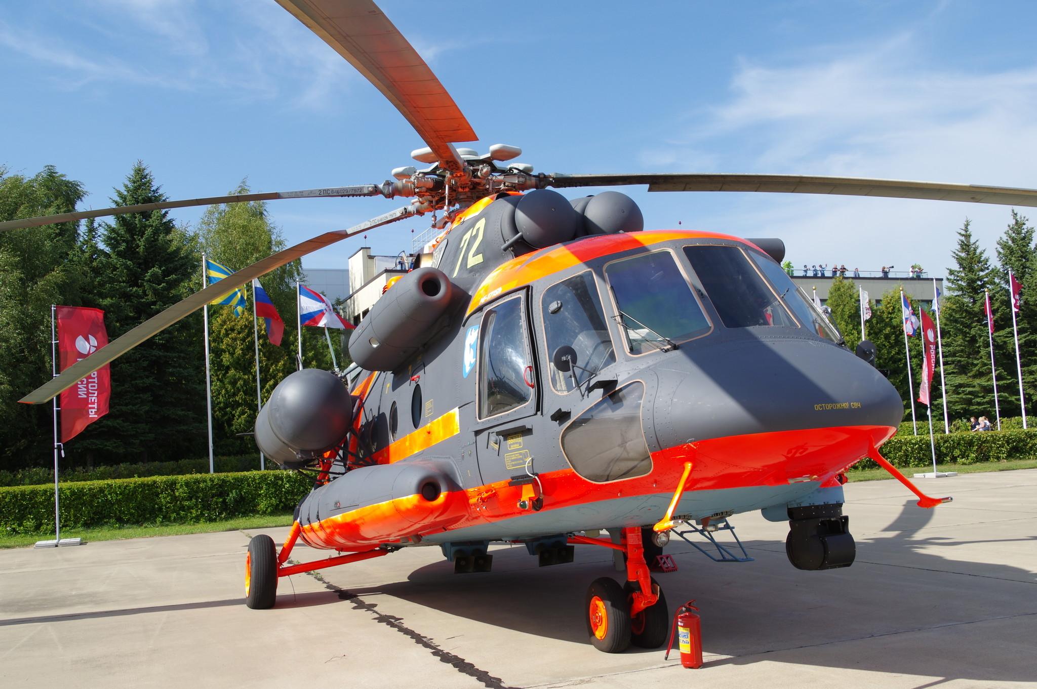 Военно-транспортный вертолёт Ми-8АМТШ-ВА
